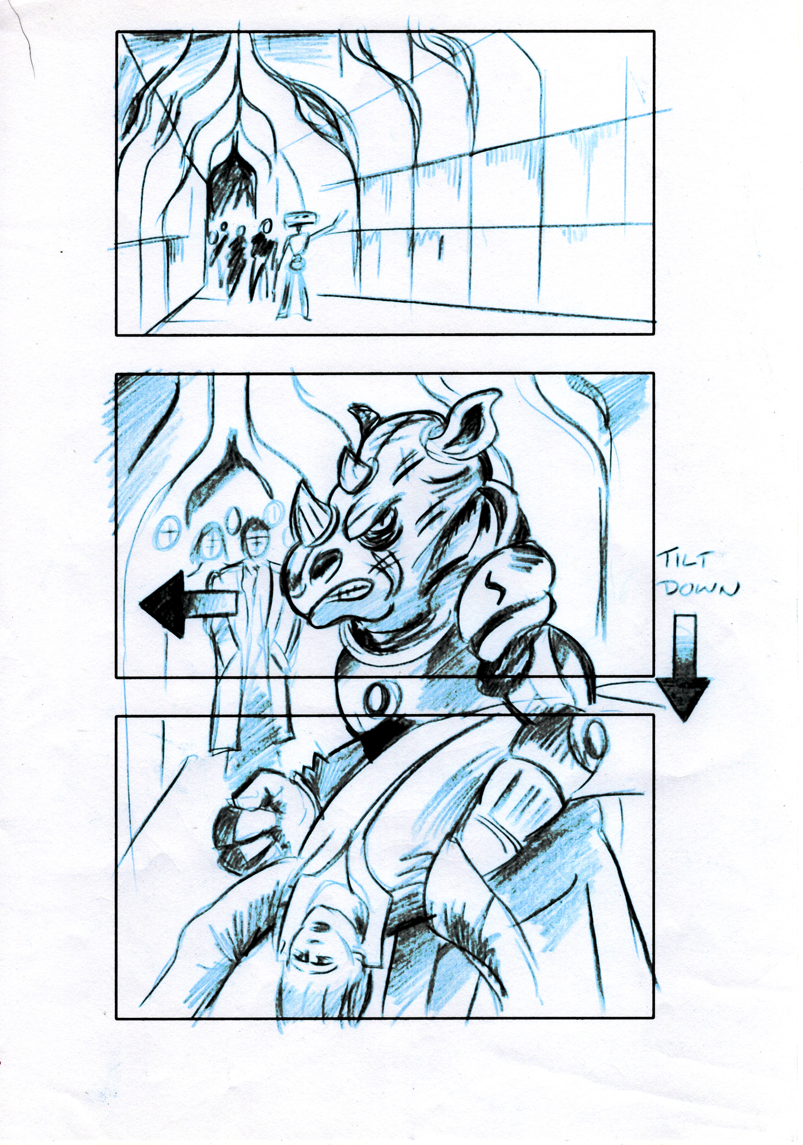 "Storyboards Jenny T. Colgan's ""One Mile Down"""