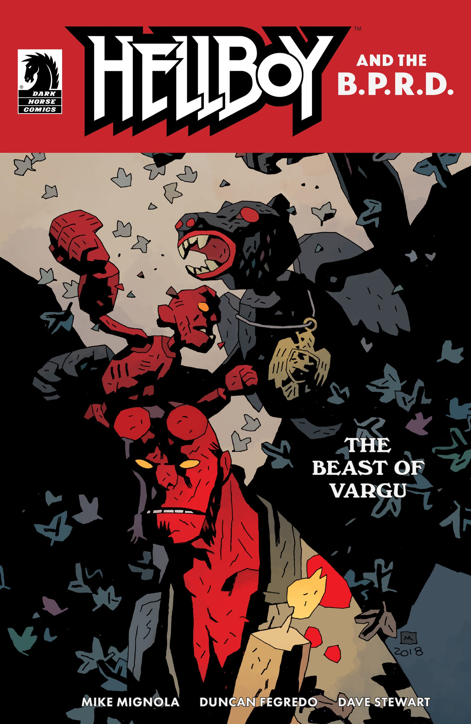 Variant by Mike Mignola