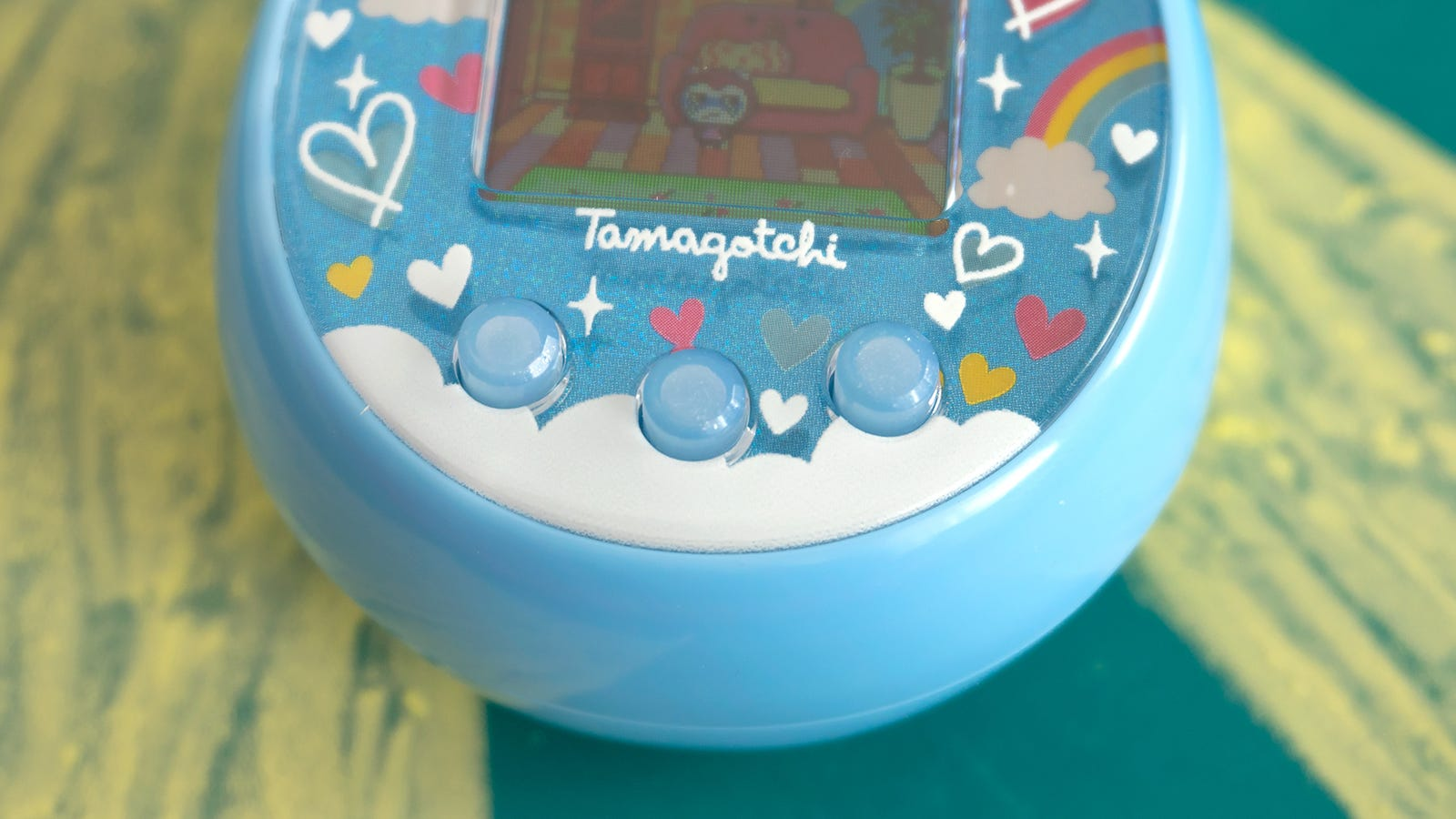 As with almost all the previous iterations of Tamagotchi, interacting with your virtual pet and navigating the menus is all done with three simple buttons, but with all the new features it might be time for an upgrade.