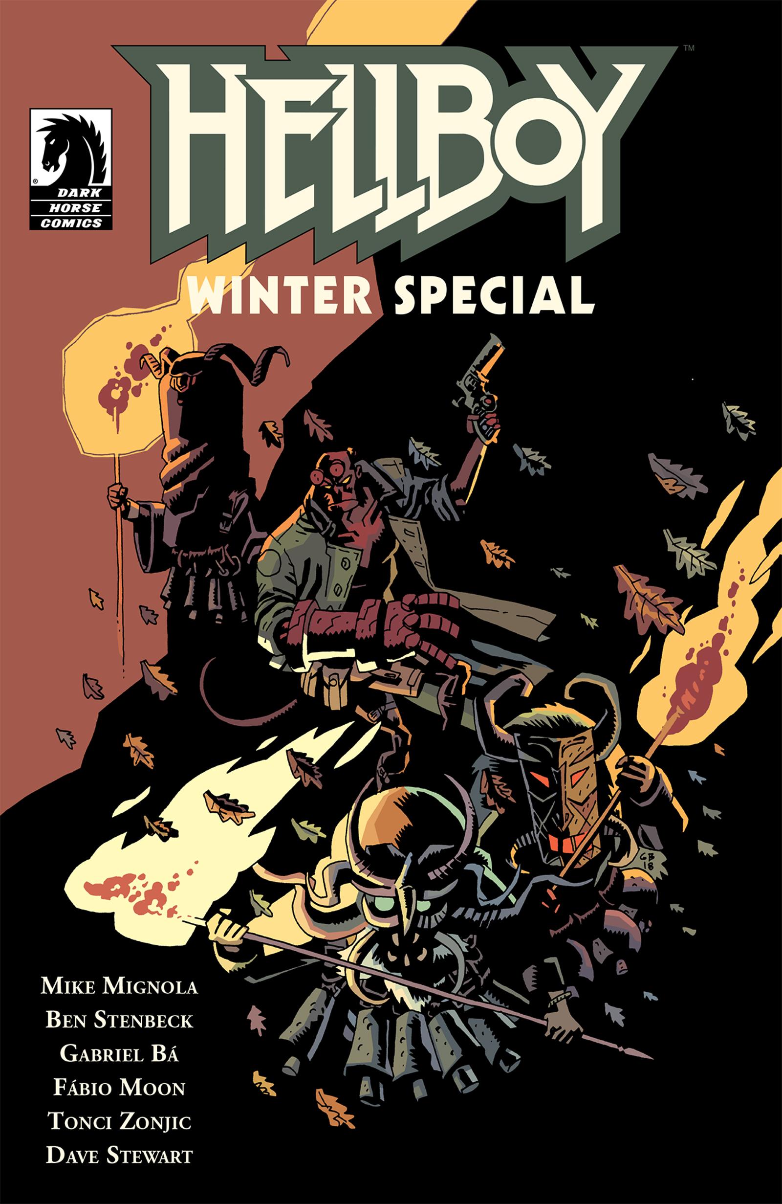 Cover by Gabriel Bá