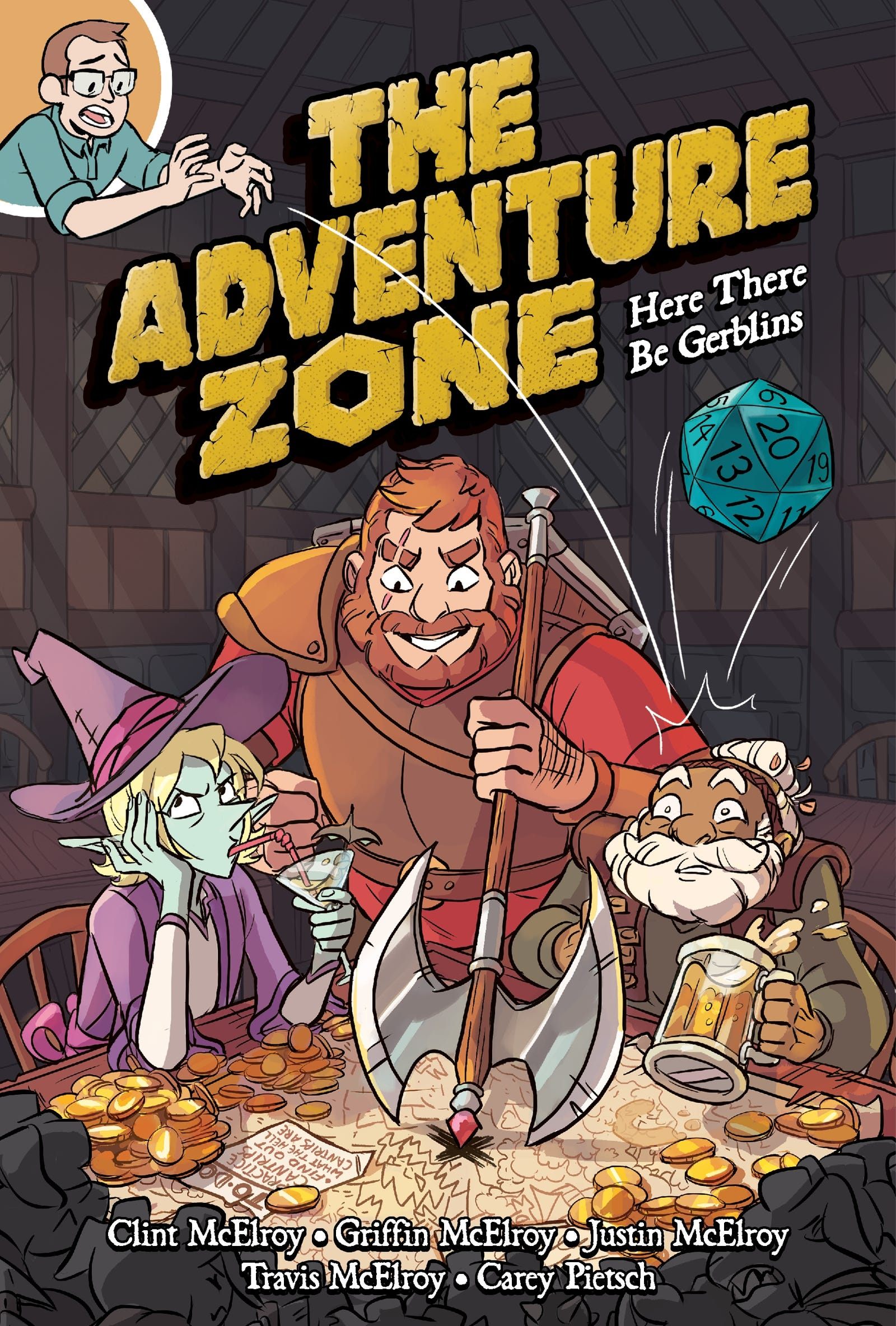 Illustration for article titled This iThe Adventure Zone/i exclusive brings the zany fantasy podcast to comicsem/em
