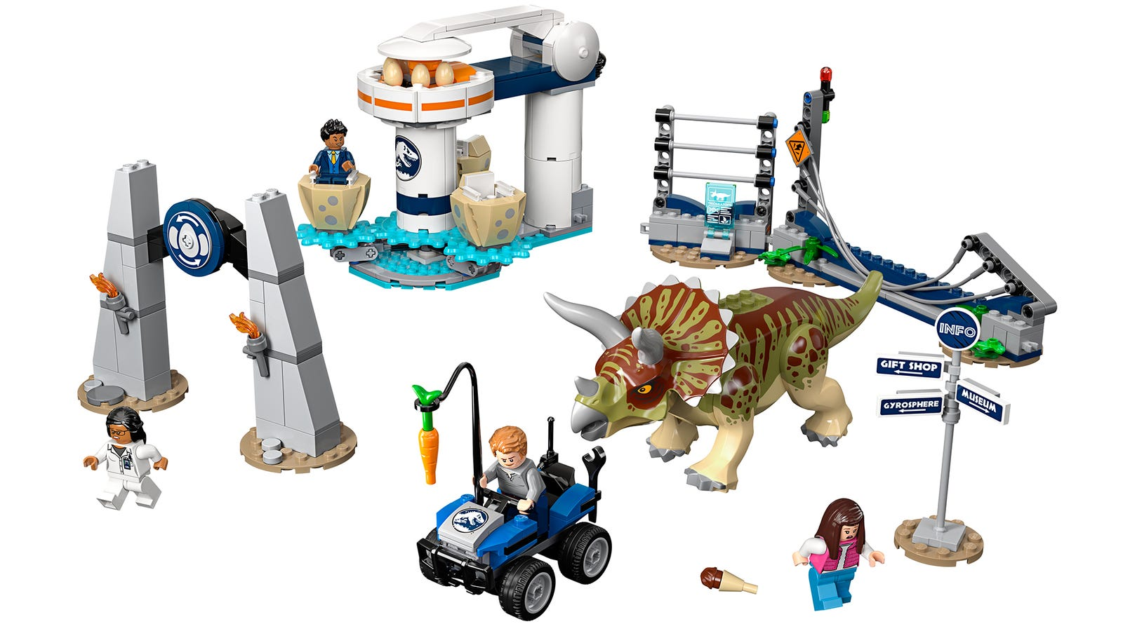 Lego Triceratops Rampage - 447 pieces - $60