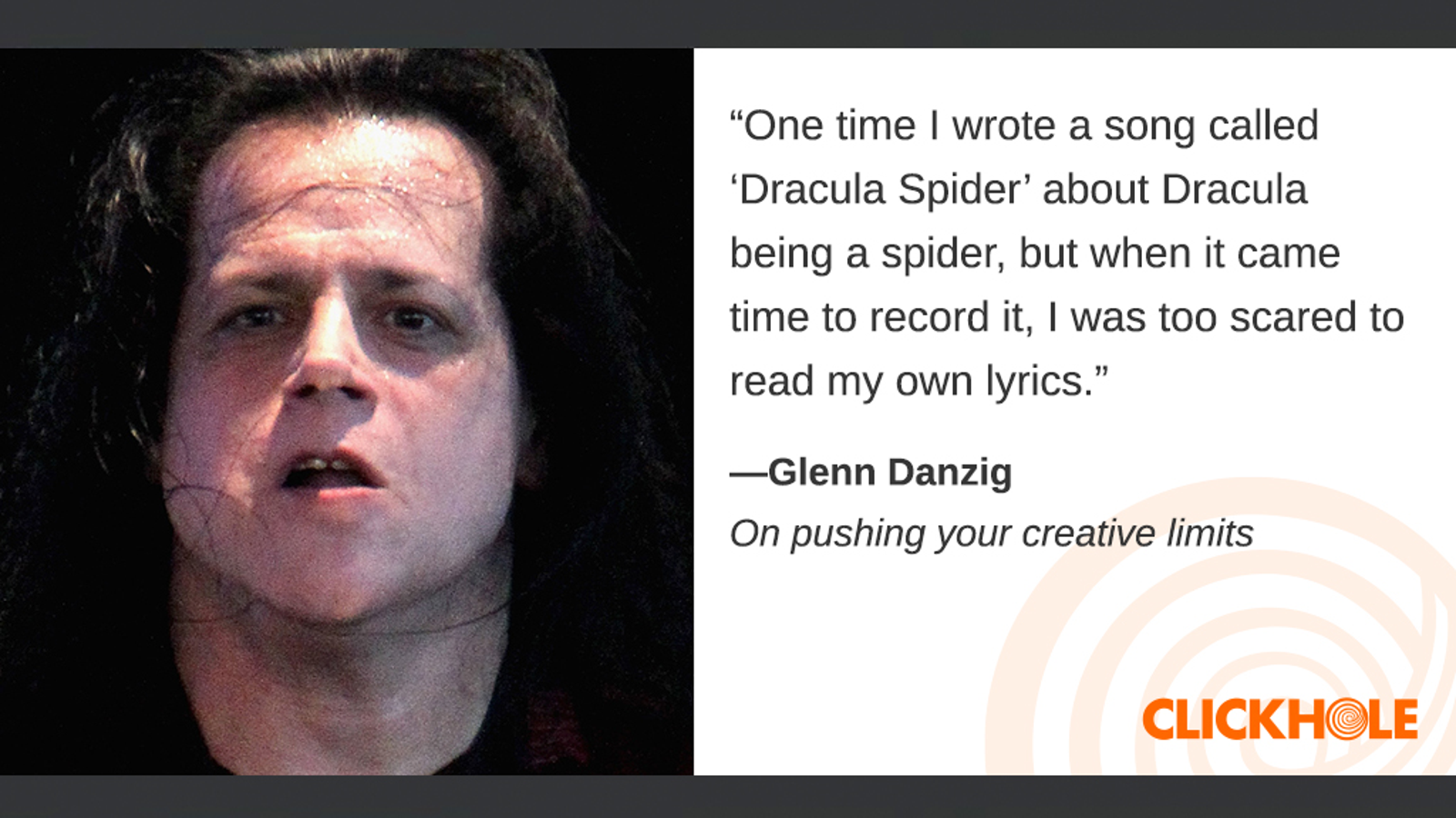Illustration for article titled Find Out What Glenn Danzig, Sigourney Weaver, Emma Stone, And More Have To Say