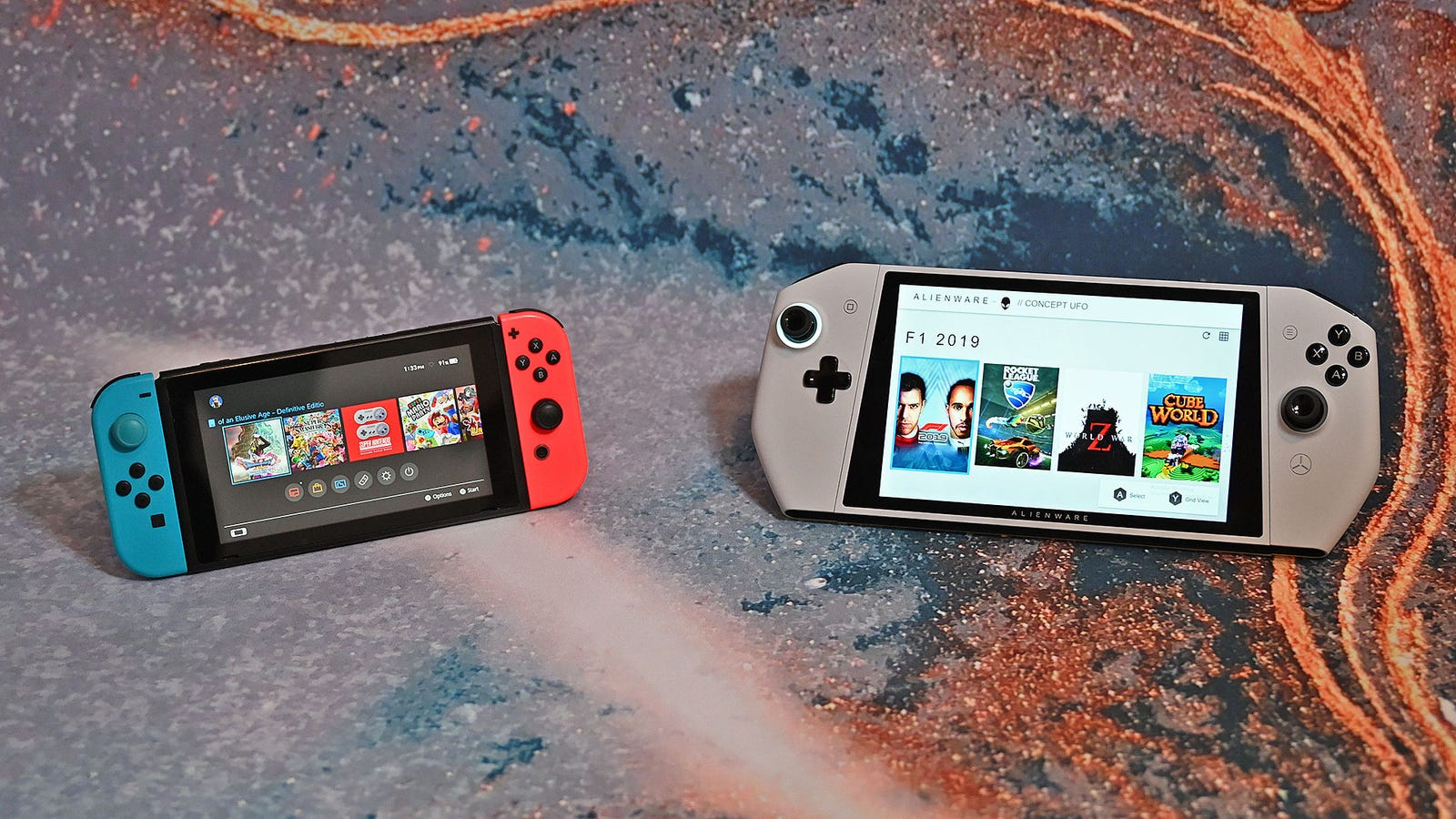 The Concept UFO vs the Switch: Which one would you want?