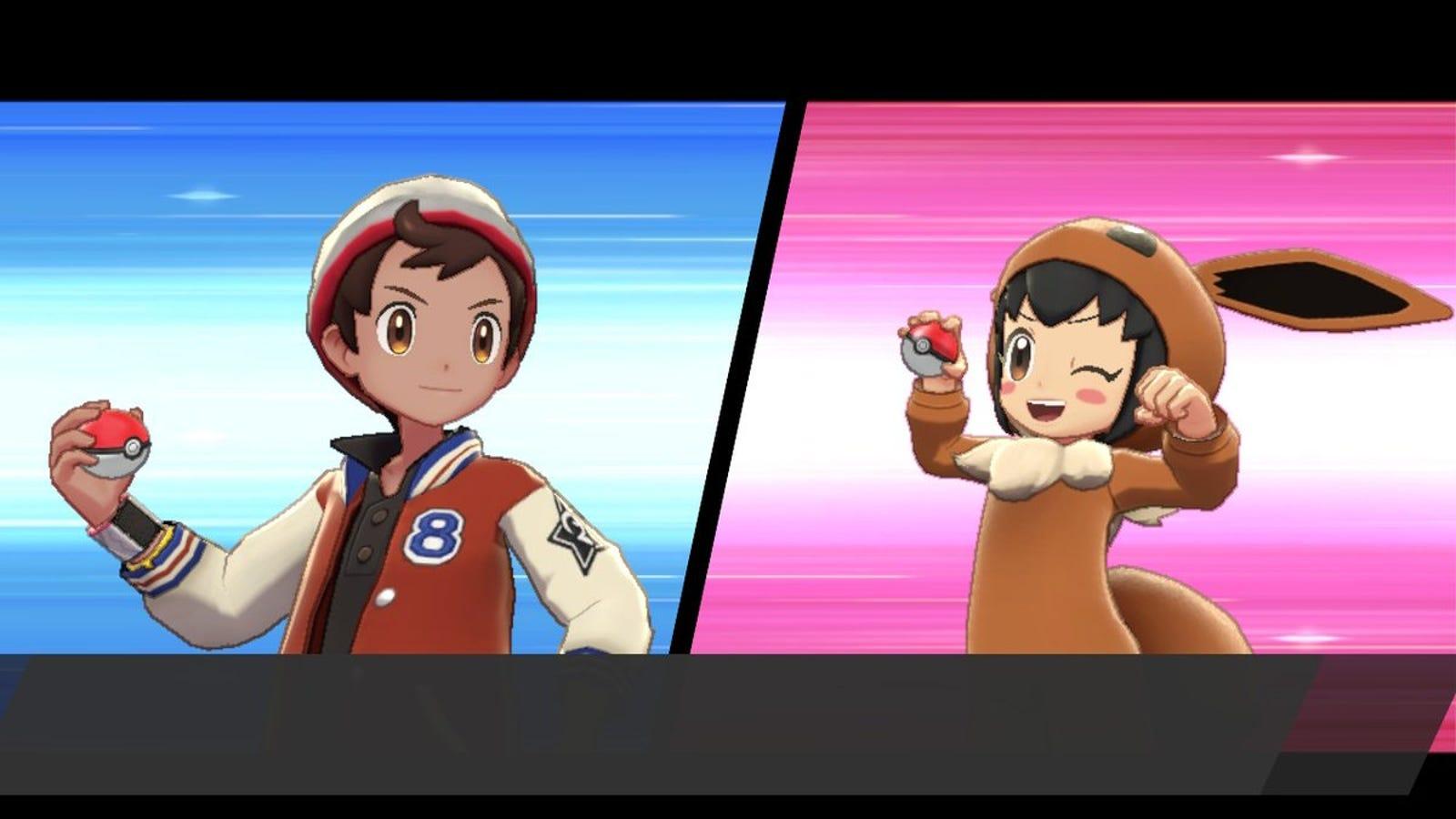 Puedes combatir con cosplayers que también entrenan pokémon, por supuesto.