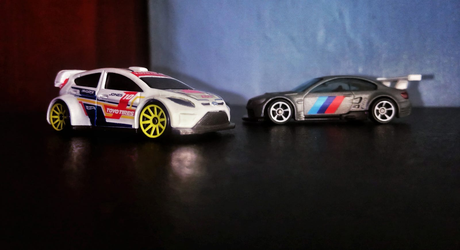 YES! An actually good livery on the Fiesta, and my first M3 GT2. I am so happy to get these two.
