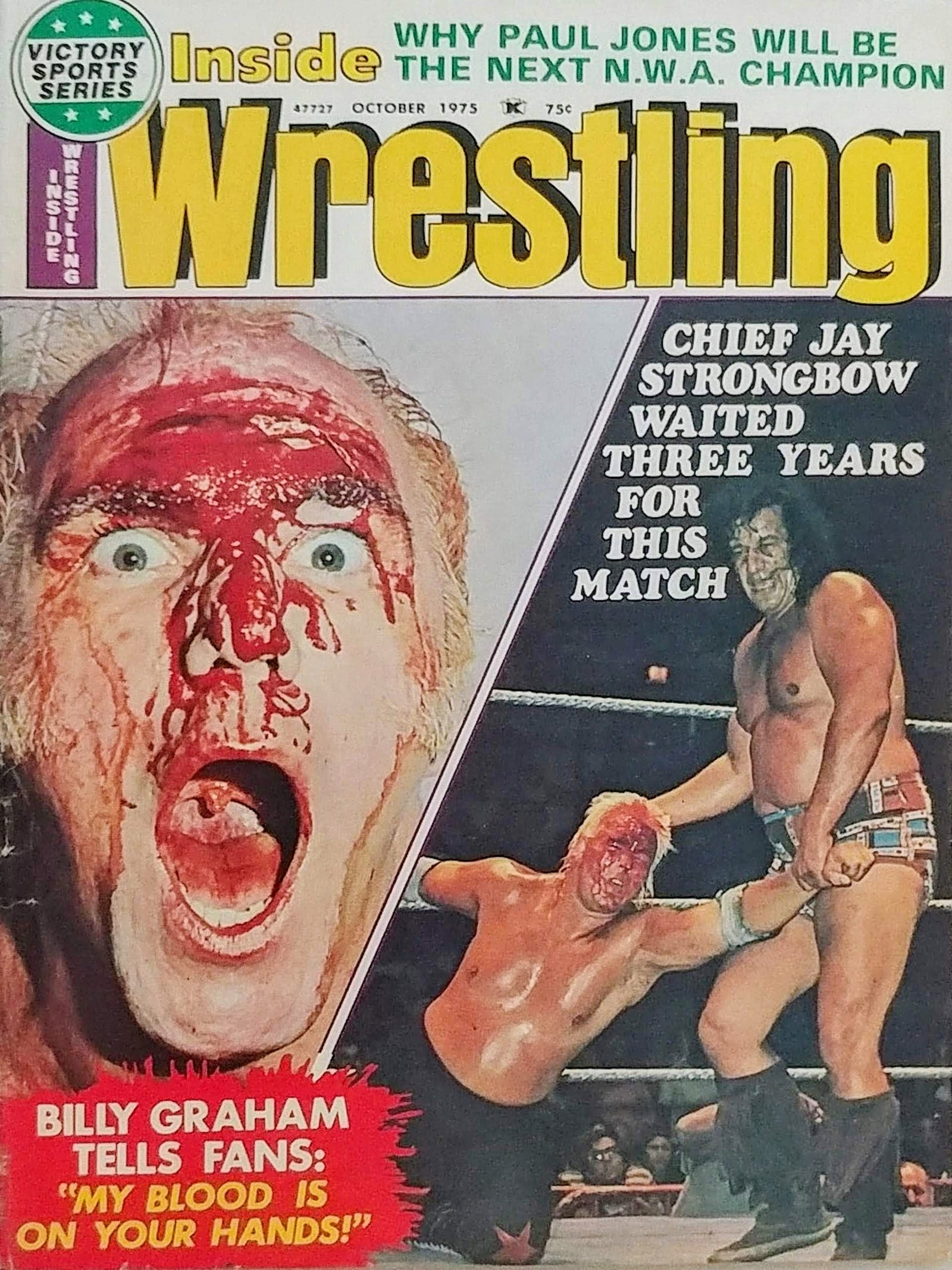 Illustration for article titled Wrestling Magazines Were Bloody, Dumb, And Sleazy, And I Loved Them