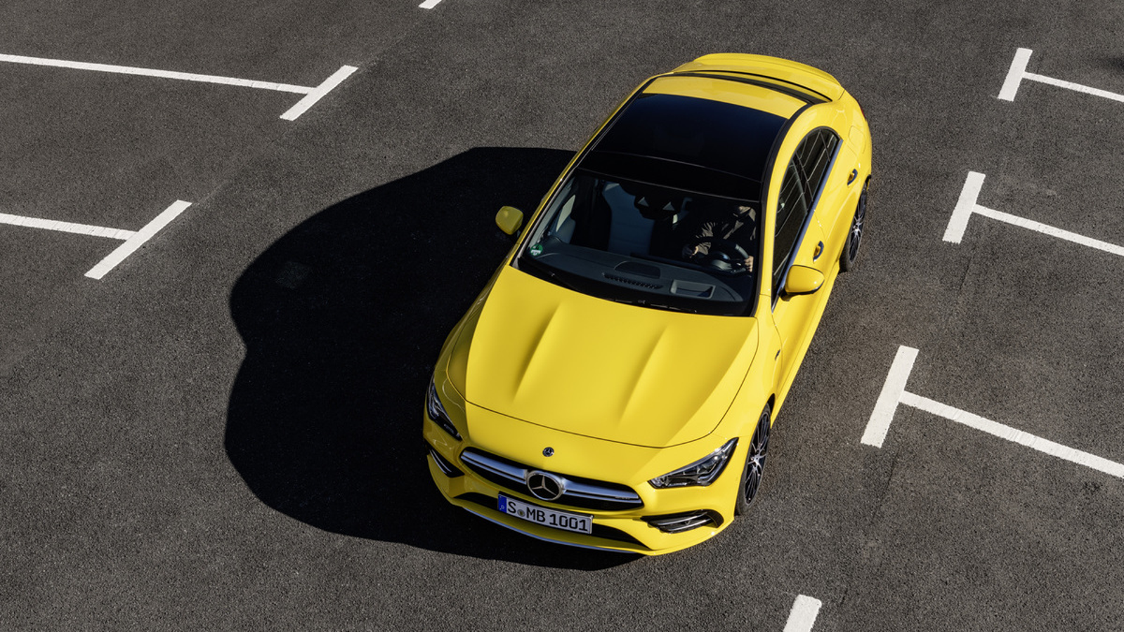 Illustration for article titled The 2020 Mercedes-AMG CLA35 Is a Damn Fine-Looking Car