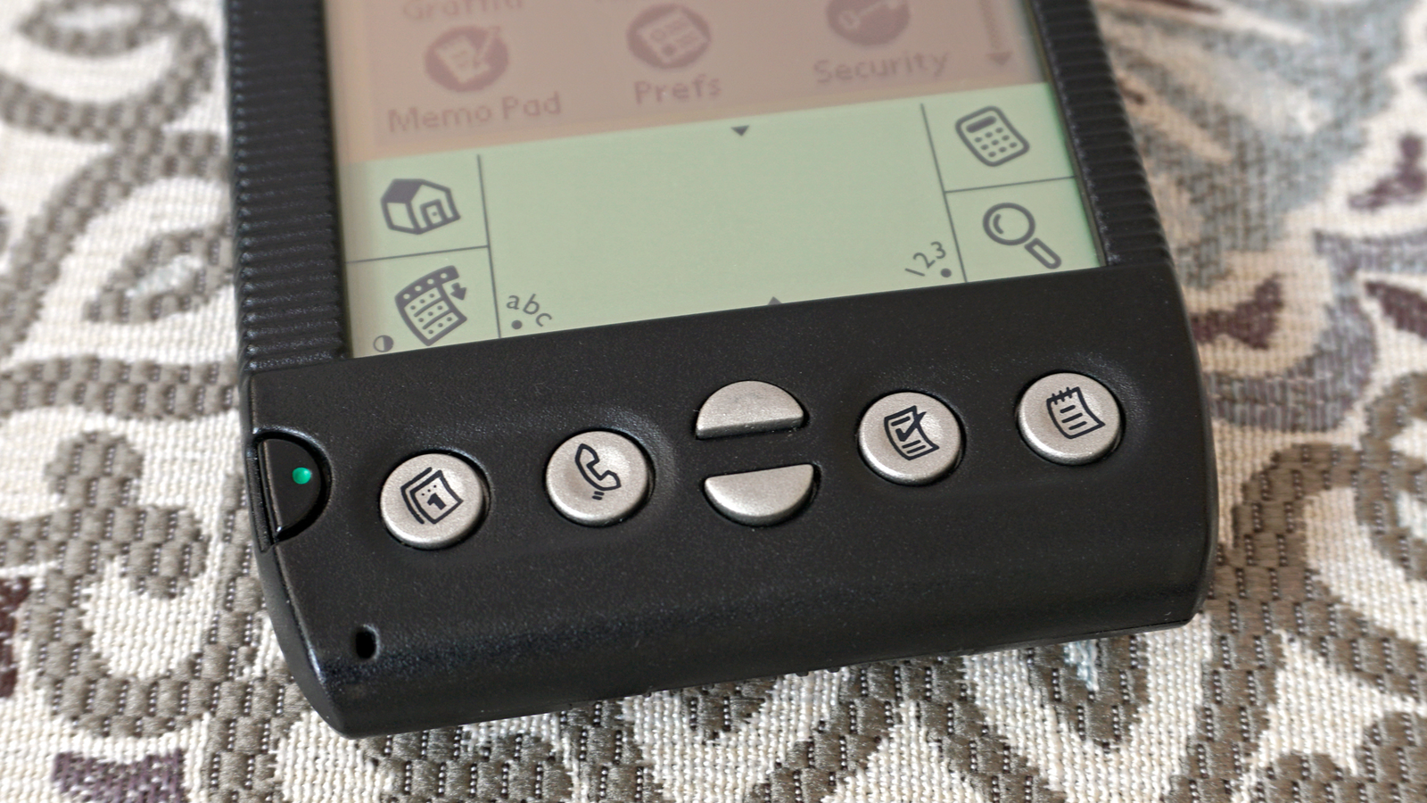 PDA makers were always generous with buttons, providing shortcuts to a device's most commonly used apps.