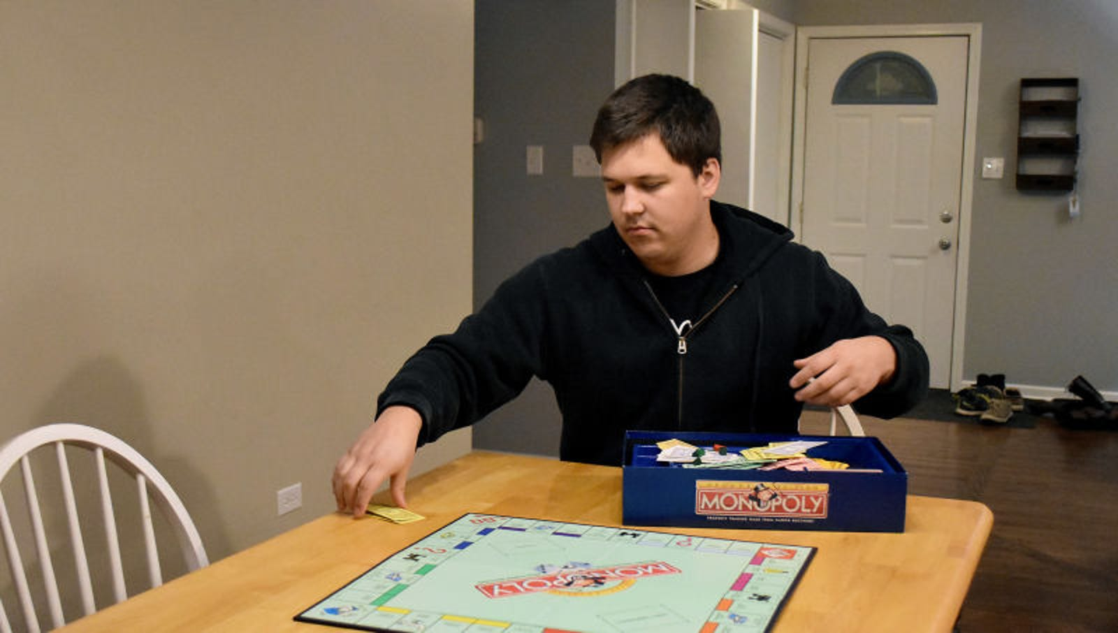 Negligent Oaf Sloppily Packs Away Board Game Without So Much As A Thought To Future Players