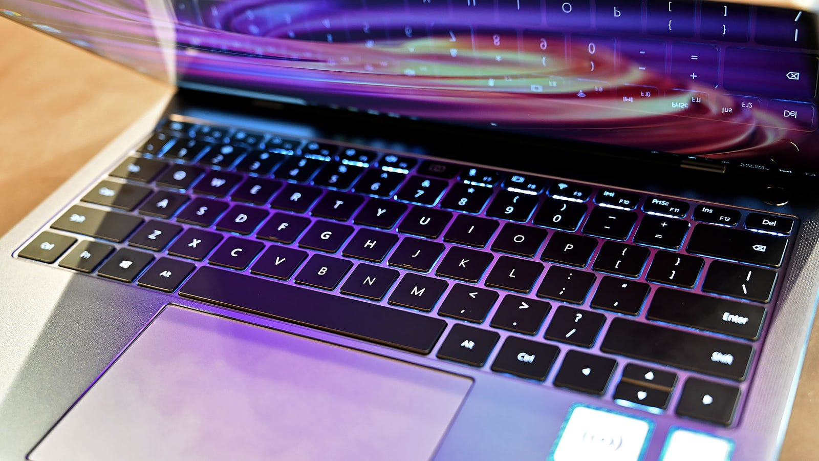 As expected on a laptop this expensive, the X Pro comes with backlit keys.