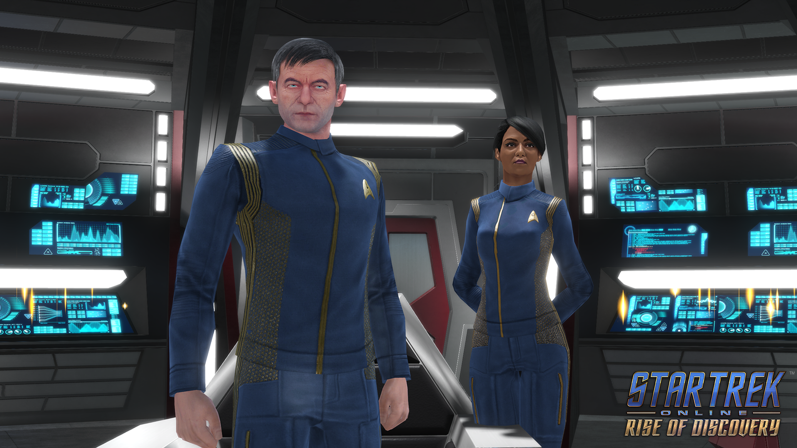 Illustration for article titled Captain Lorca Returns (for the First Time) in This Exclusive Star Trek Online Trailer