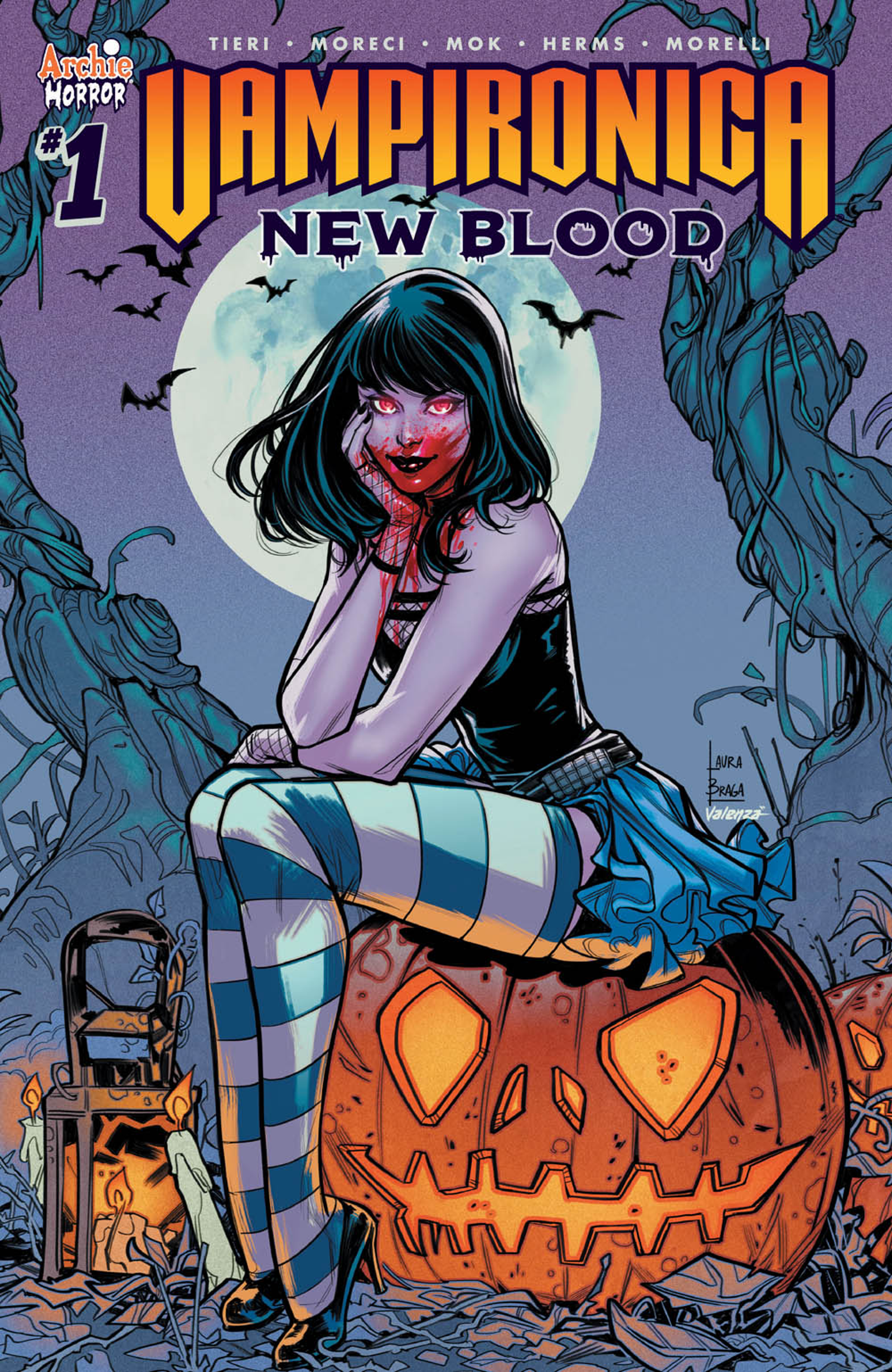 Check out this gallery of variant covers for Vampironica: New Blood #1, making their debuts exclusively on io9!