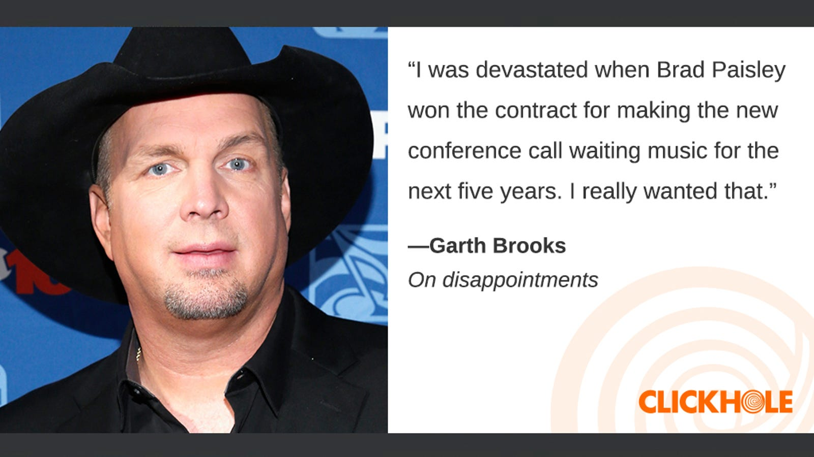 Illustration for article titled Find Out What Garth Brooks, Liev Schrieber, Gwen Stefani, And More Have To Say
