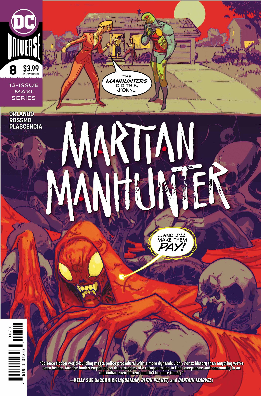 Illustration for article titled emMartian Manhunter/em's partner reveals her secret origin in this exclusive preview