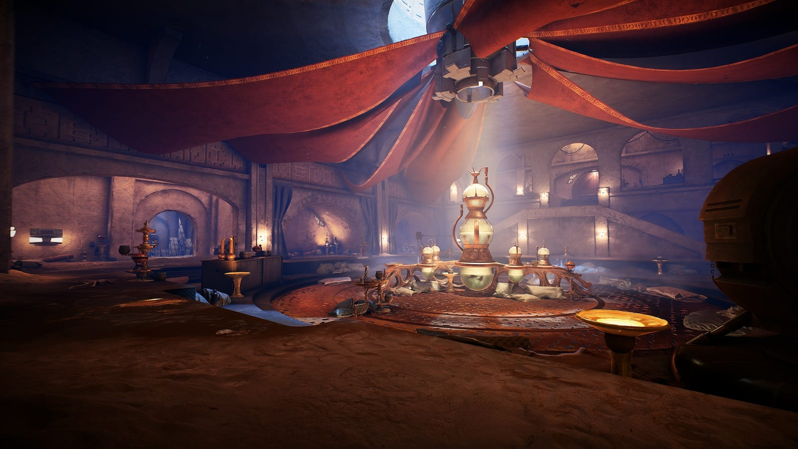 Jabba's Palace in Battlefront II