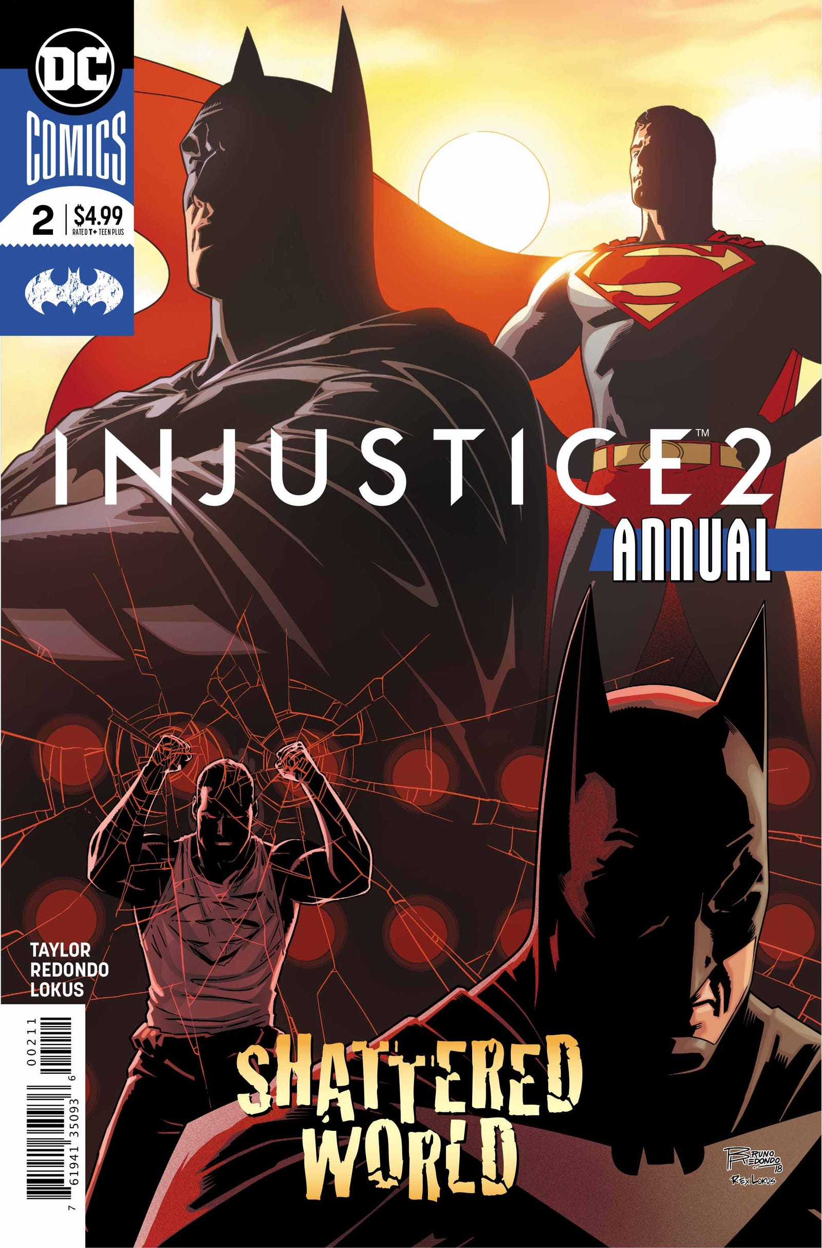 Cover by Bruno Redondo and Rex Lokus