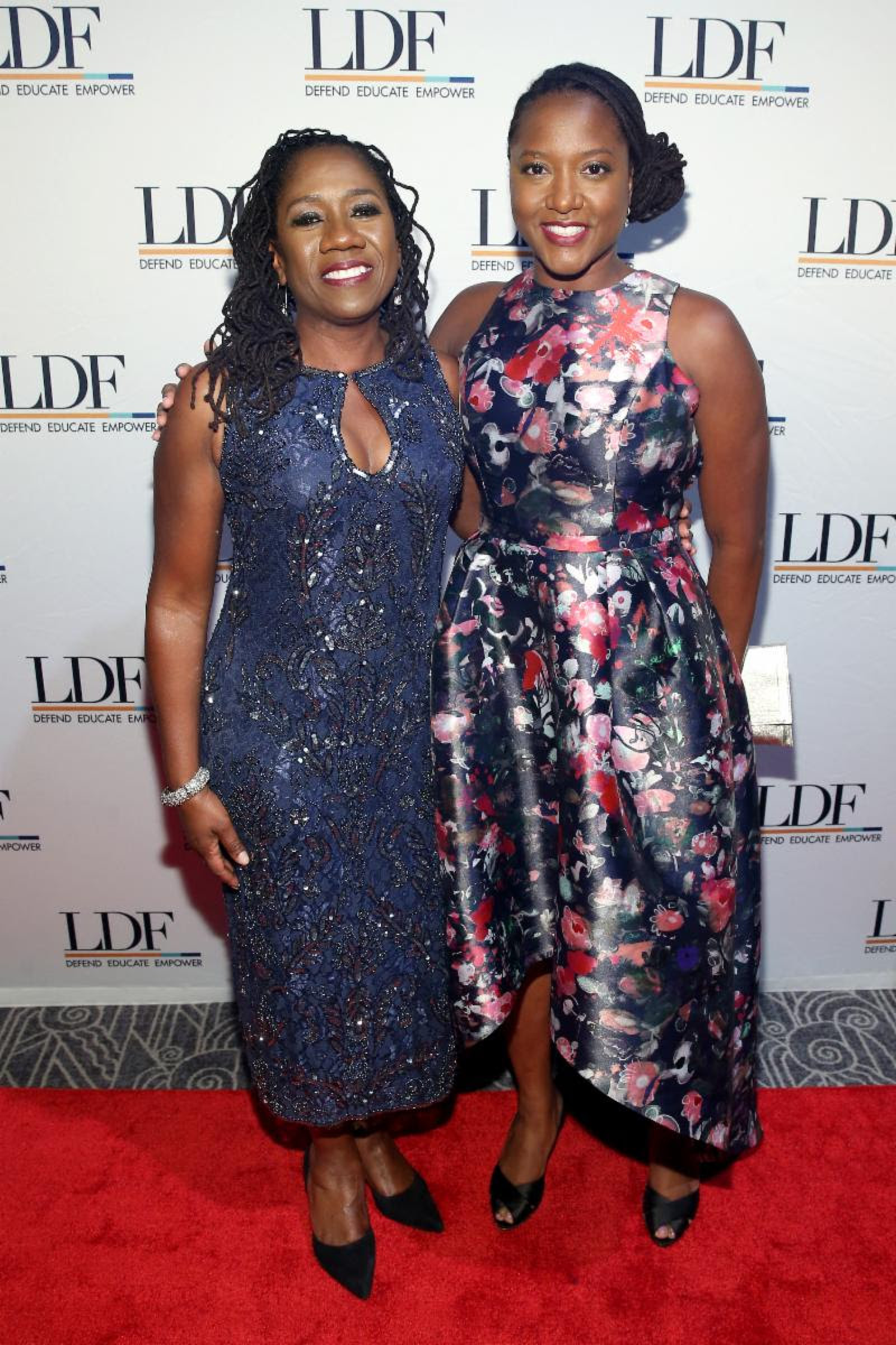 Sherrilyn Ifill with LDF associate director-counsel Janai Nelson