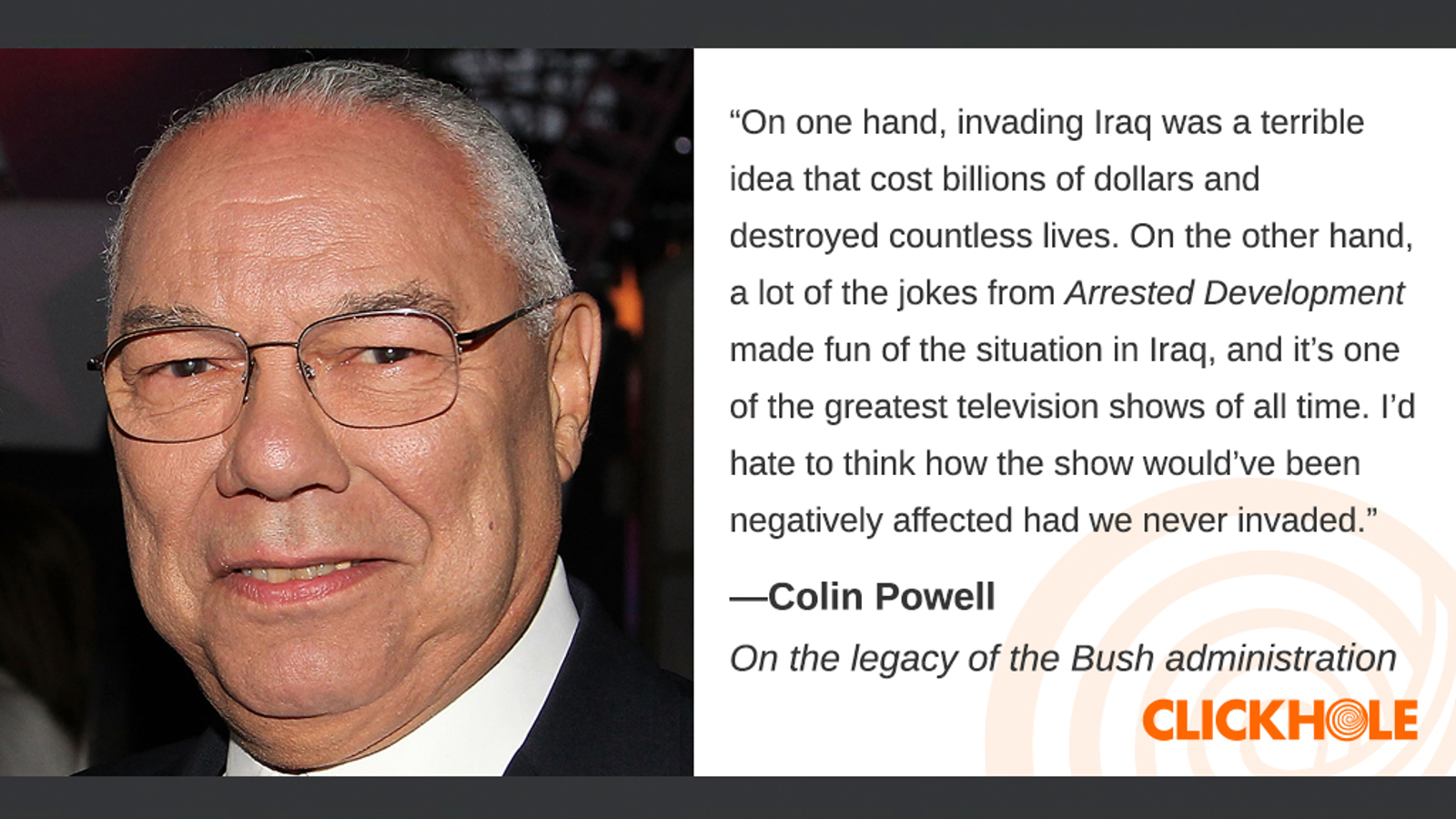 Illustration for article titled Find Out What Colin Powell, Giancarlo Stanton, Mandy Patinkin, And More Have To Say