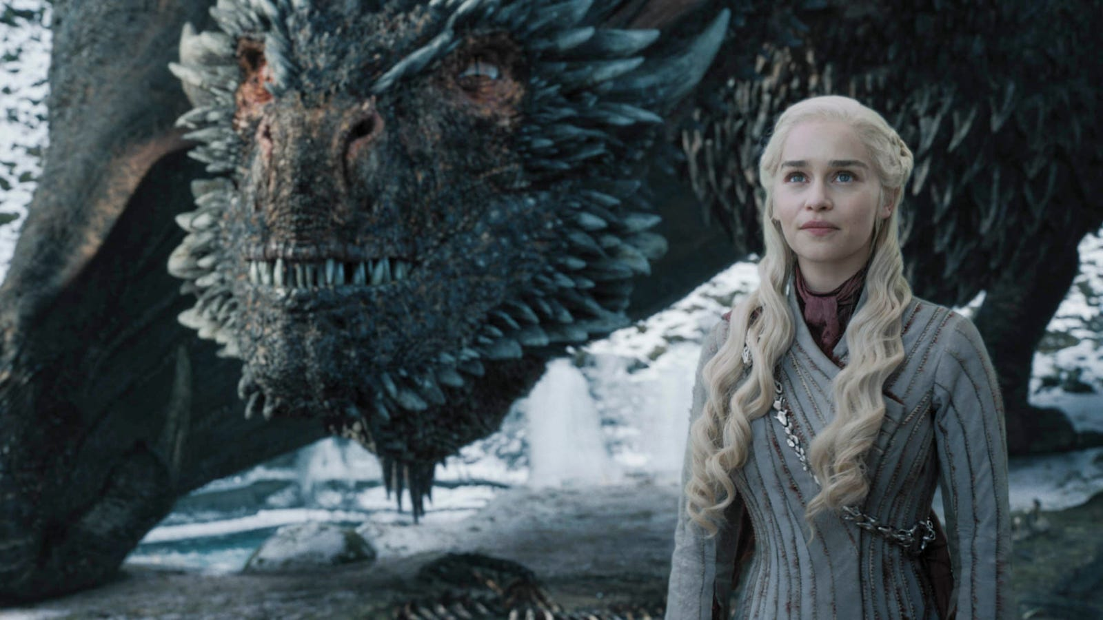 Daenerys and Drogon have some quality bonding time over carcasses. All photos: Helen Sloane/HBO