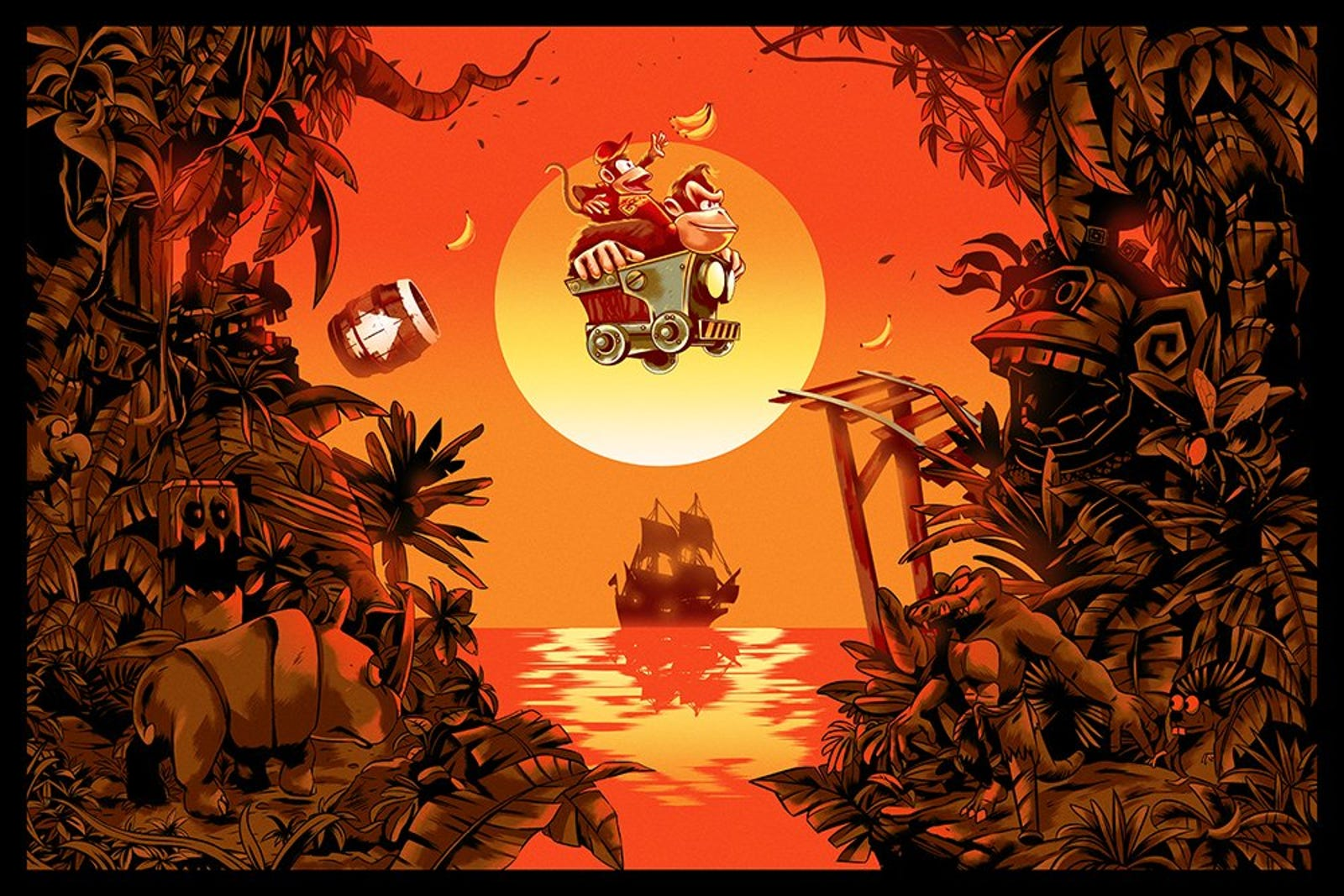 Donkey Kong Country by Alexander Wells