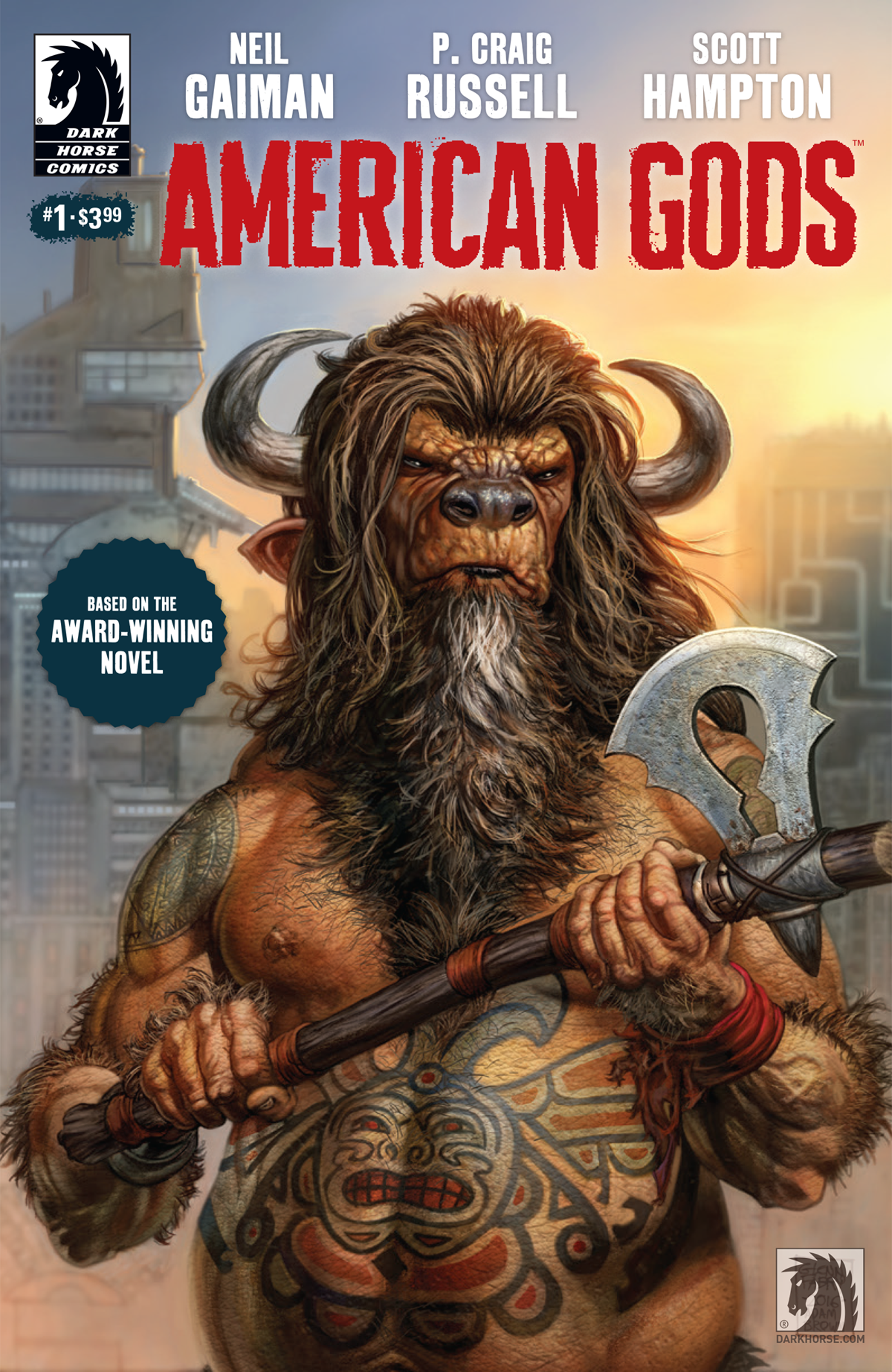 Dark Horse's American Gods: Shadows.