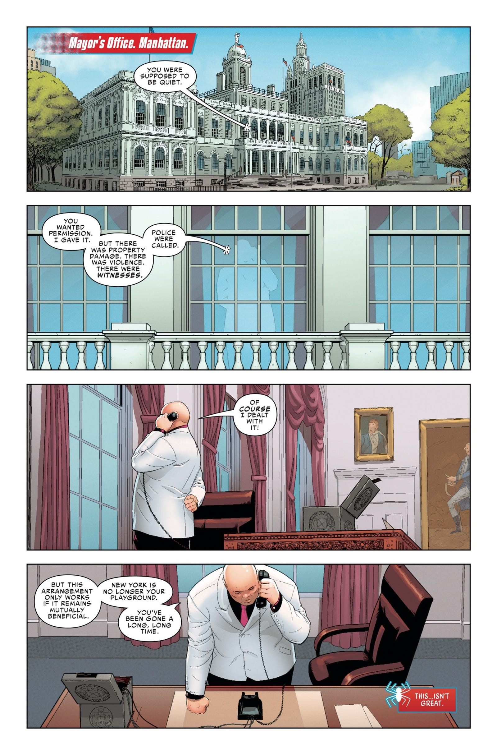 Illustration for article titled emFriendly Neighborhood Spider-Man/em is on babysitting duty in this exclusiveem/em