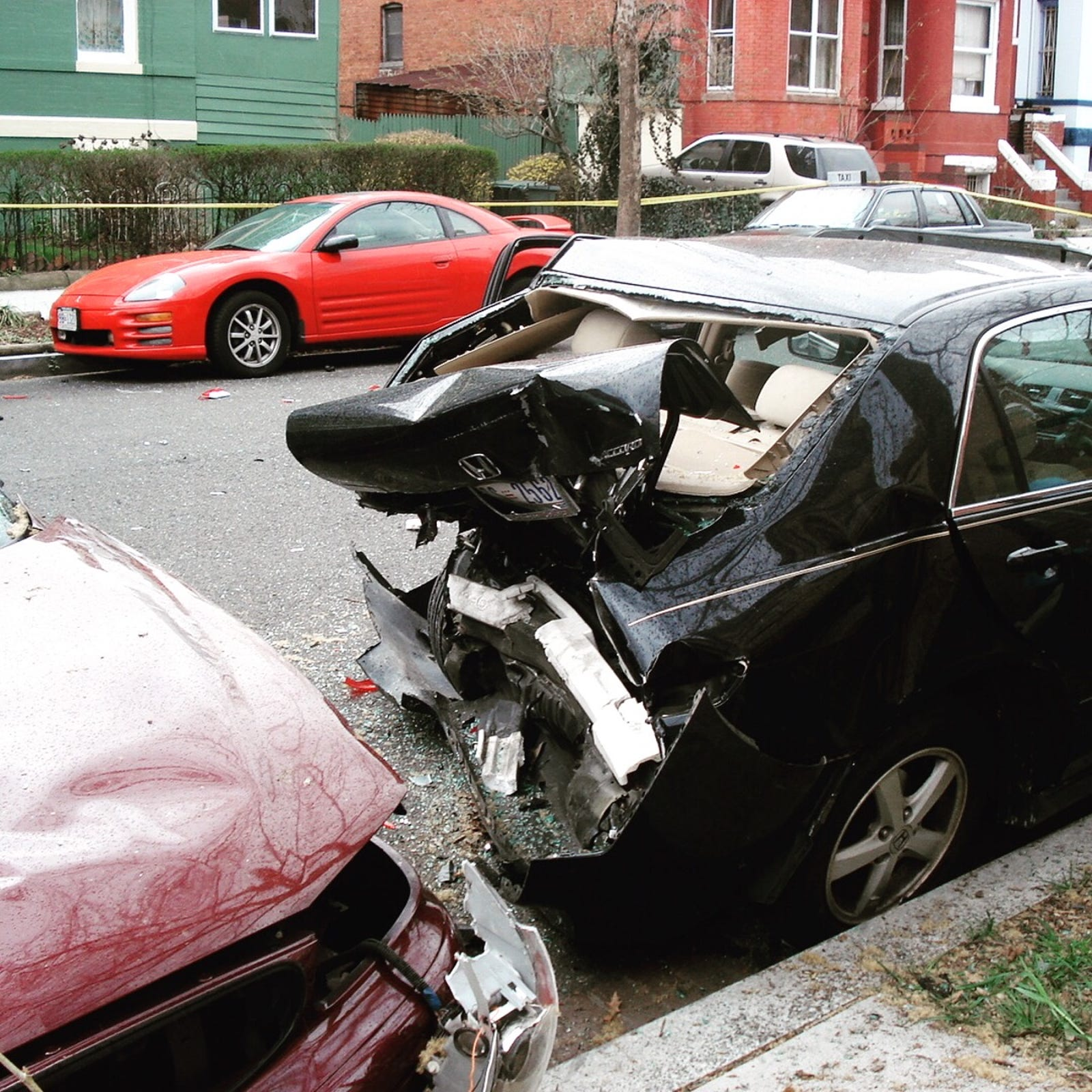 Illustration for article titled The One About the Time My Parked Car Was Totaled When It Stopped a High-Speed Police Chase Through the Streets of DC