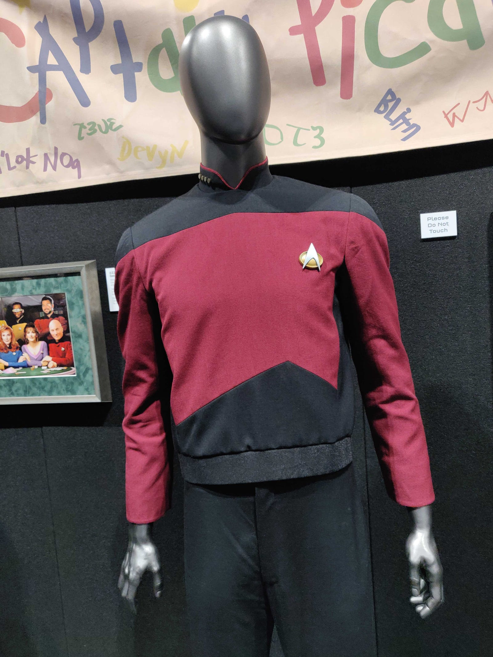 More props from the full display at Destination Star Trek.