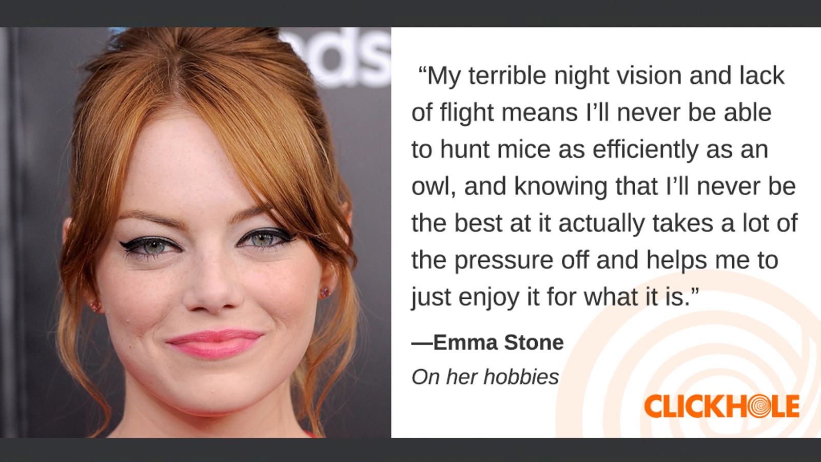 Illustration for article titled Find Out What Emma Stone, Mark Ruffalo, Denis Leary, And More Have To Say