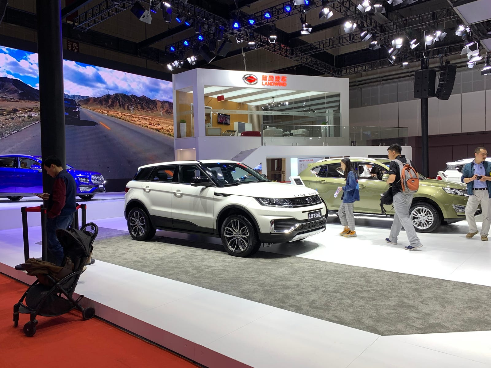 Illustration for article titled Banned Landwind X7 Displayed at 2019 Shanghai Auto Show