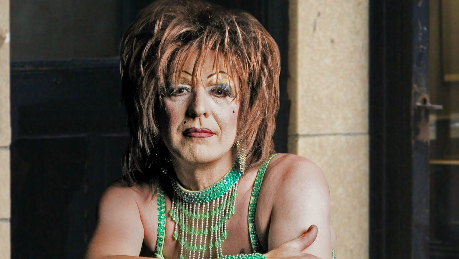 Today Particularly Rough Day For East Village Junkie Transvestite