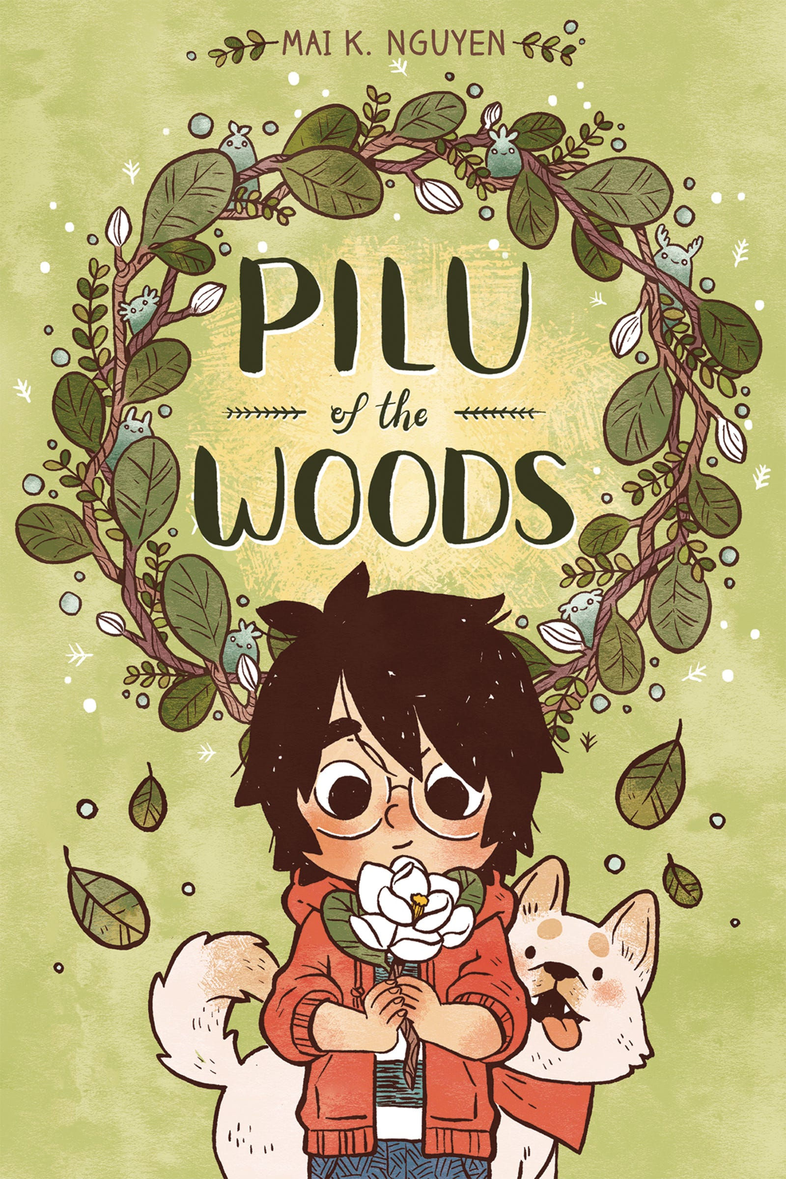Illustration for article titled A child makes a magical forest friend in this iPilu Of The Woods/i exclusiveem/em