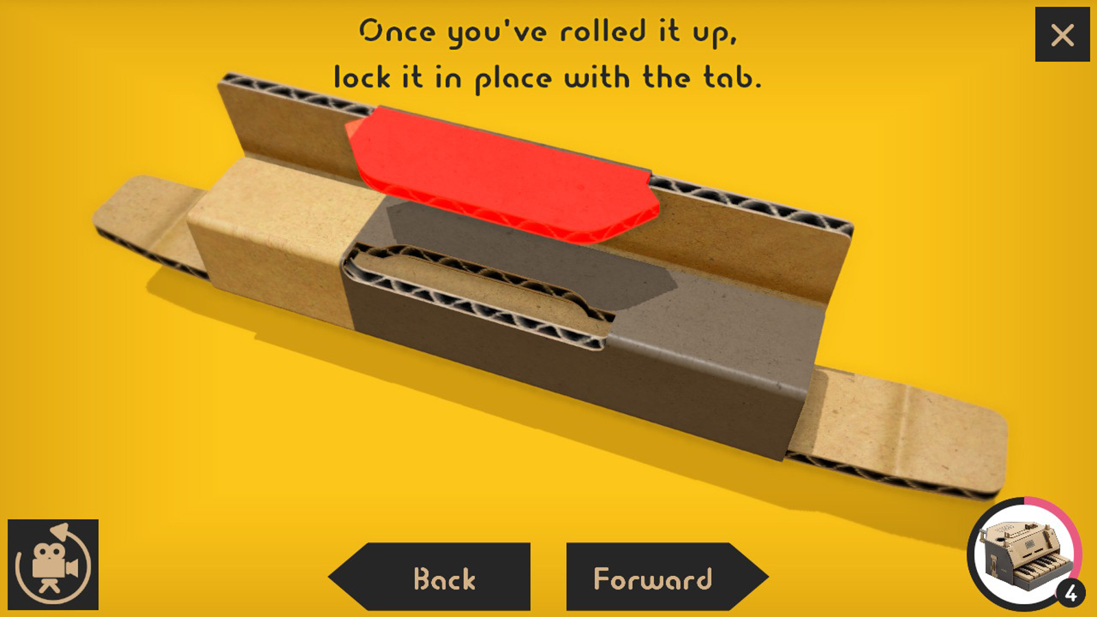 Labo's animated 3D instructions are even easier to follow than Lego's step-by-step build guides.