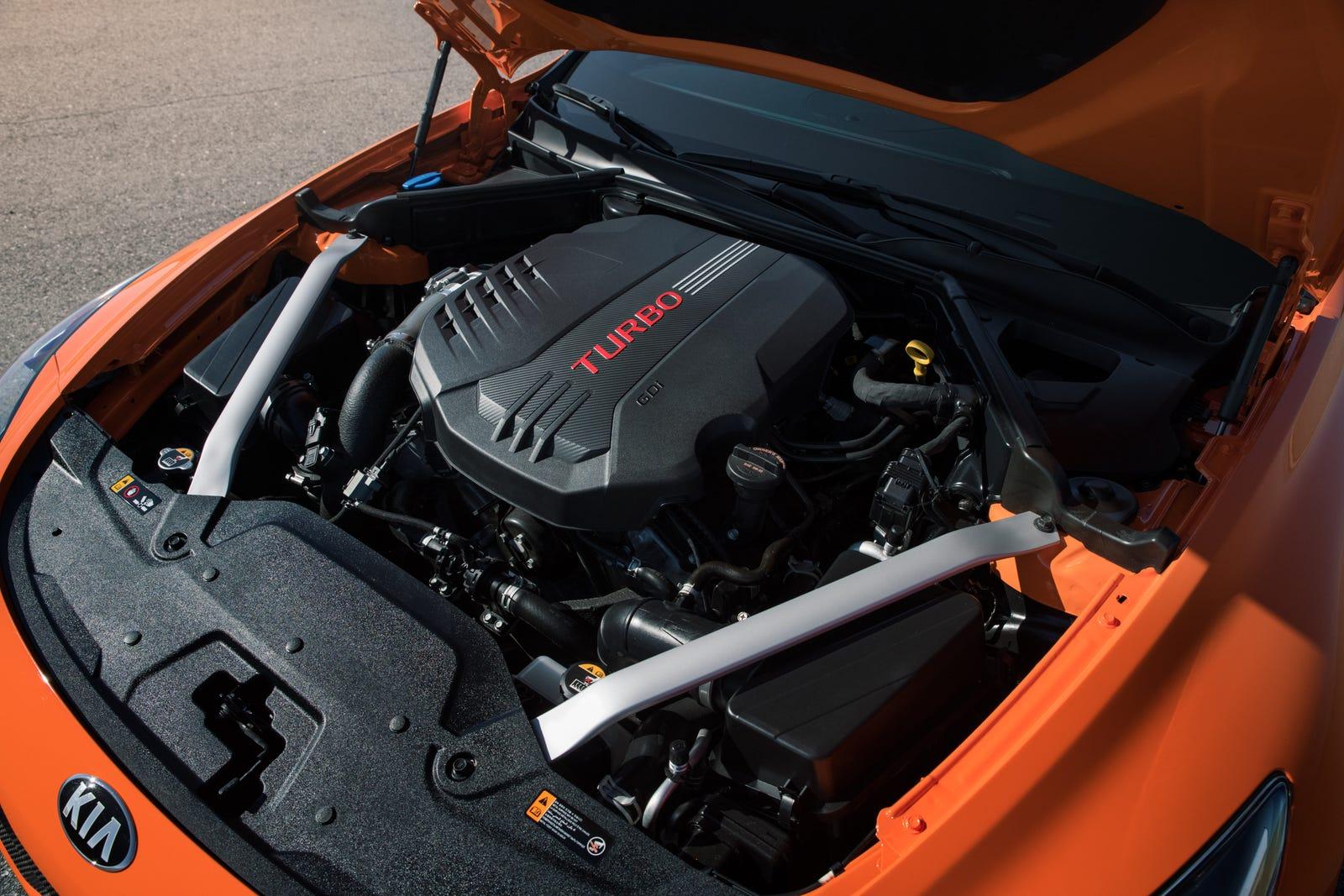 Illustration for article titled The 2019 Kia Stinger GTS Gets Drift Mode