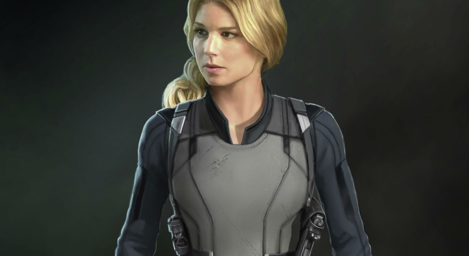 New suit for Sharon Carter