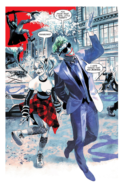Art from Harley Quinn: Breaking Glass