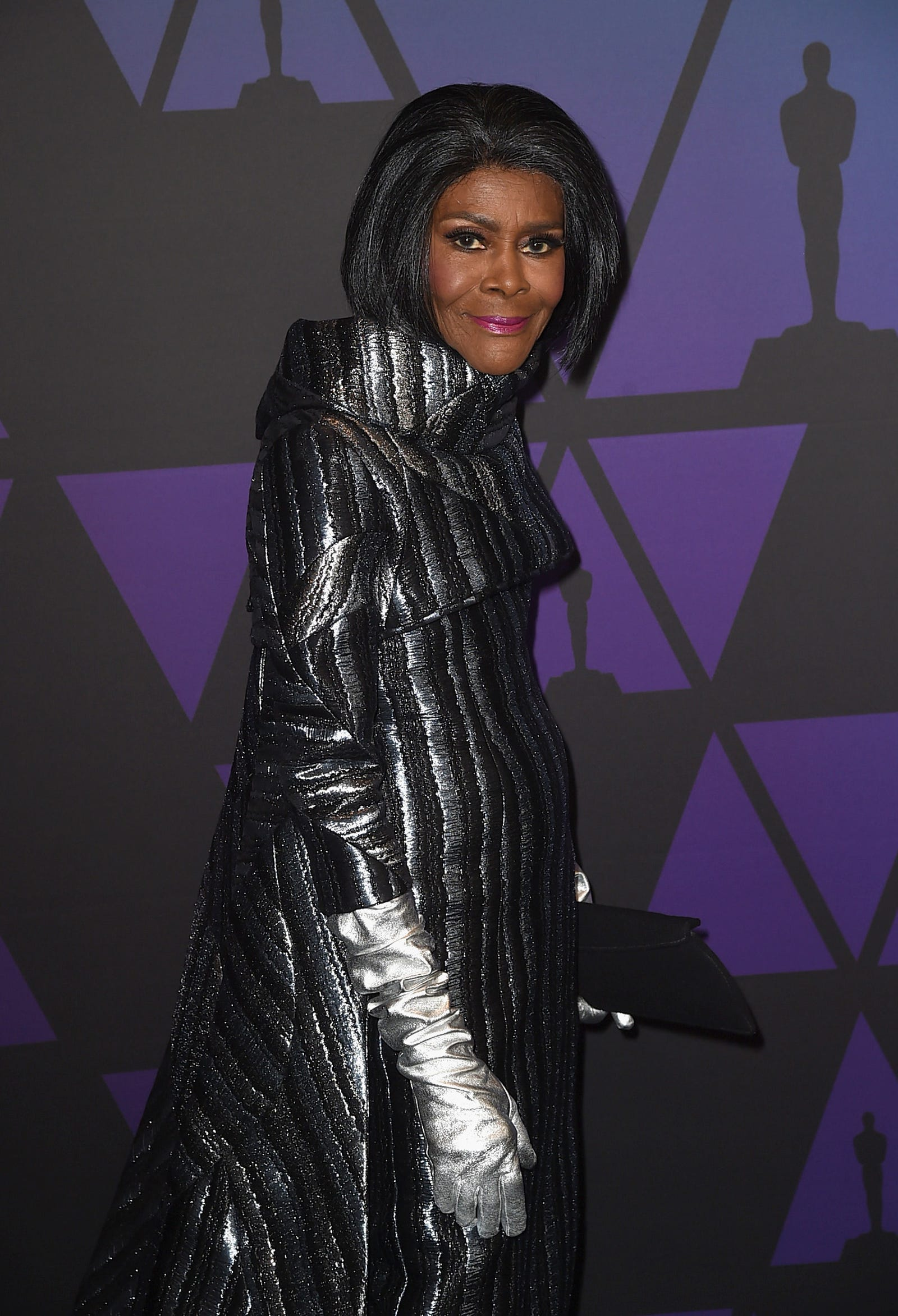 Cicely Tyson in custom B. Michael