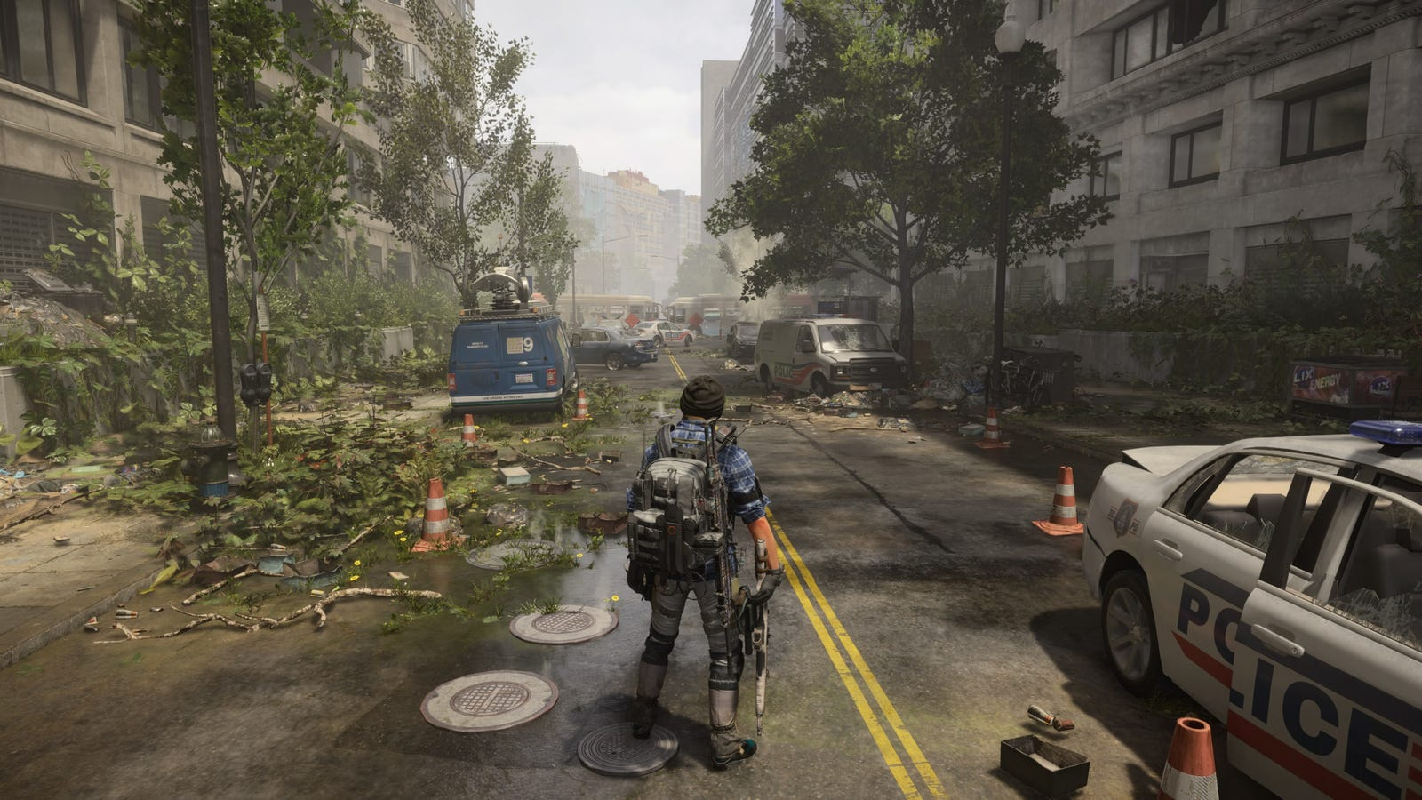 The Division 2's DC may be the most densely detailed game world every created, demonstrating the franchise artists' sensational knack for rendering amazing buildings and beautiful piles of junk.