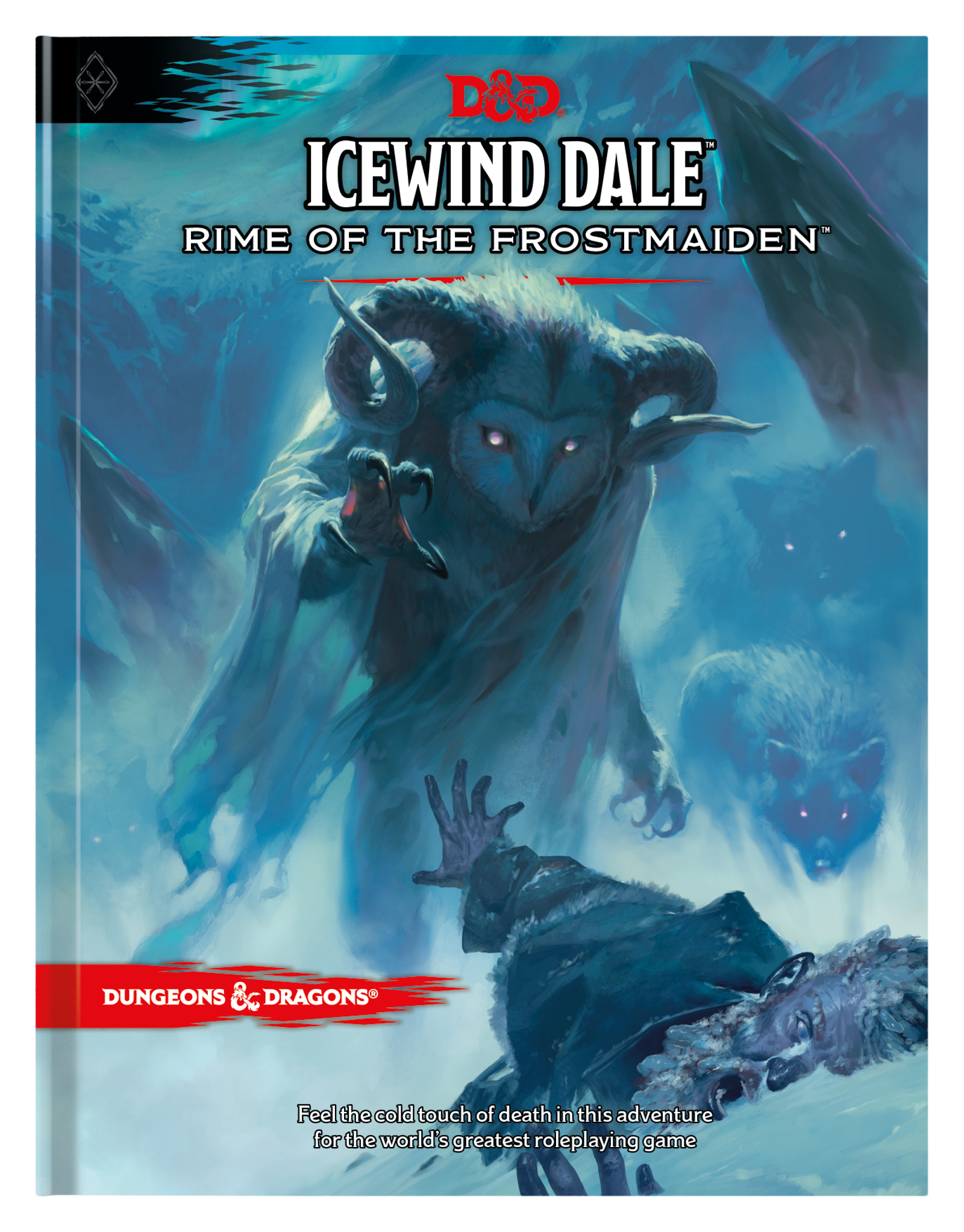 Icewind Dale: Rime of the Frostmaiden's regular cover...
