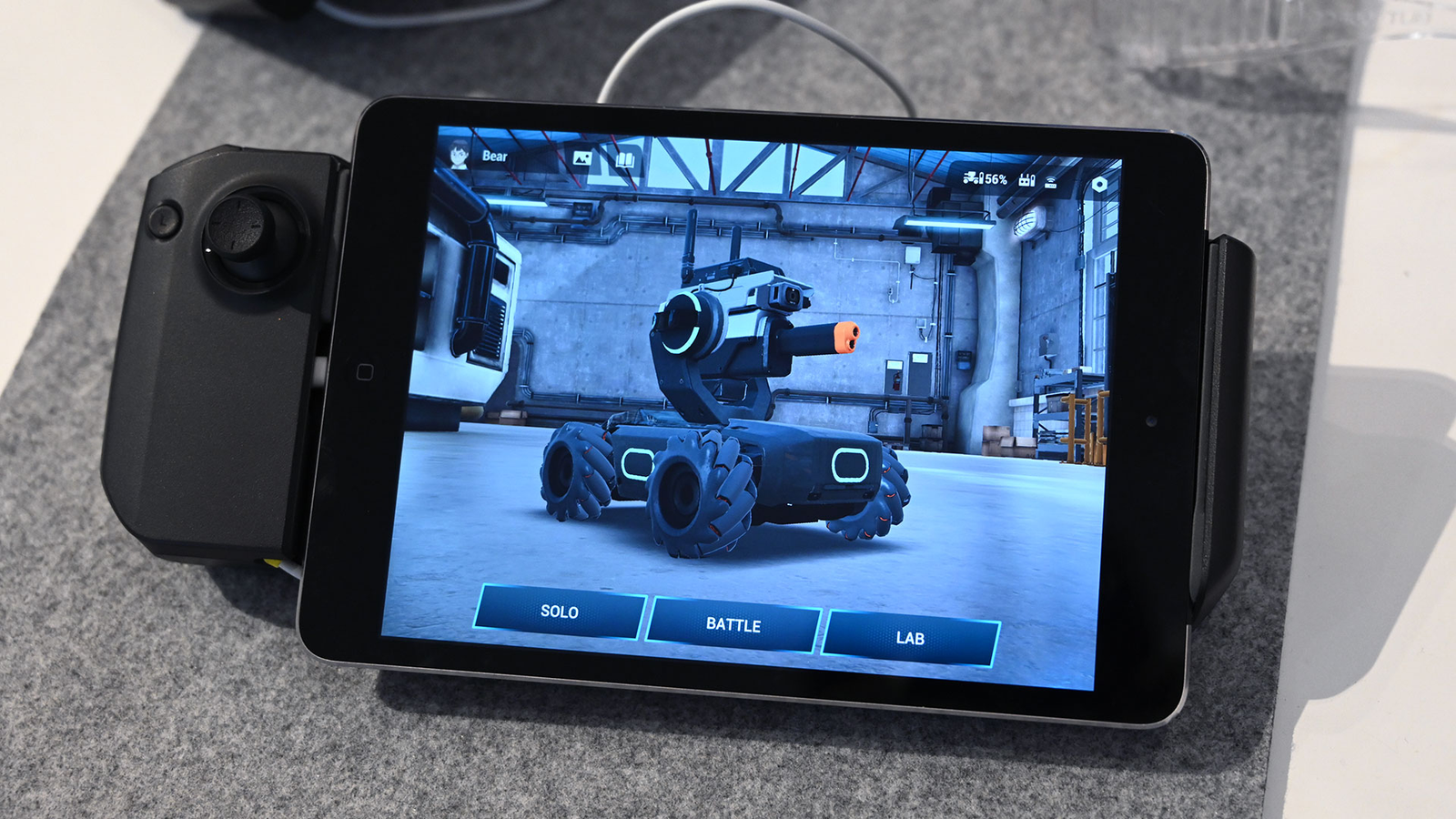 Here's a shot of DJI's app for the Robomaster.