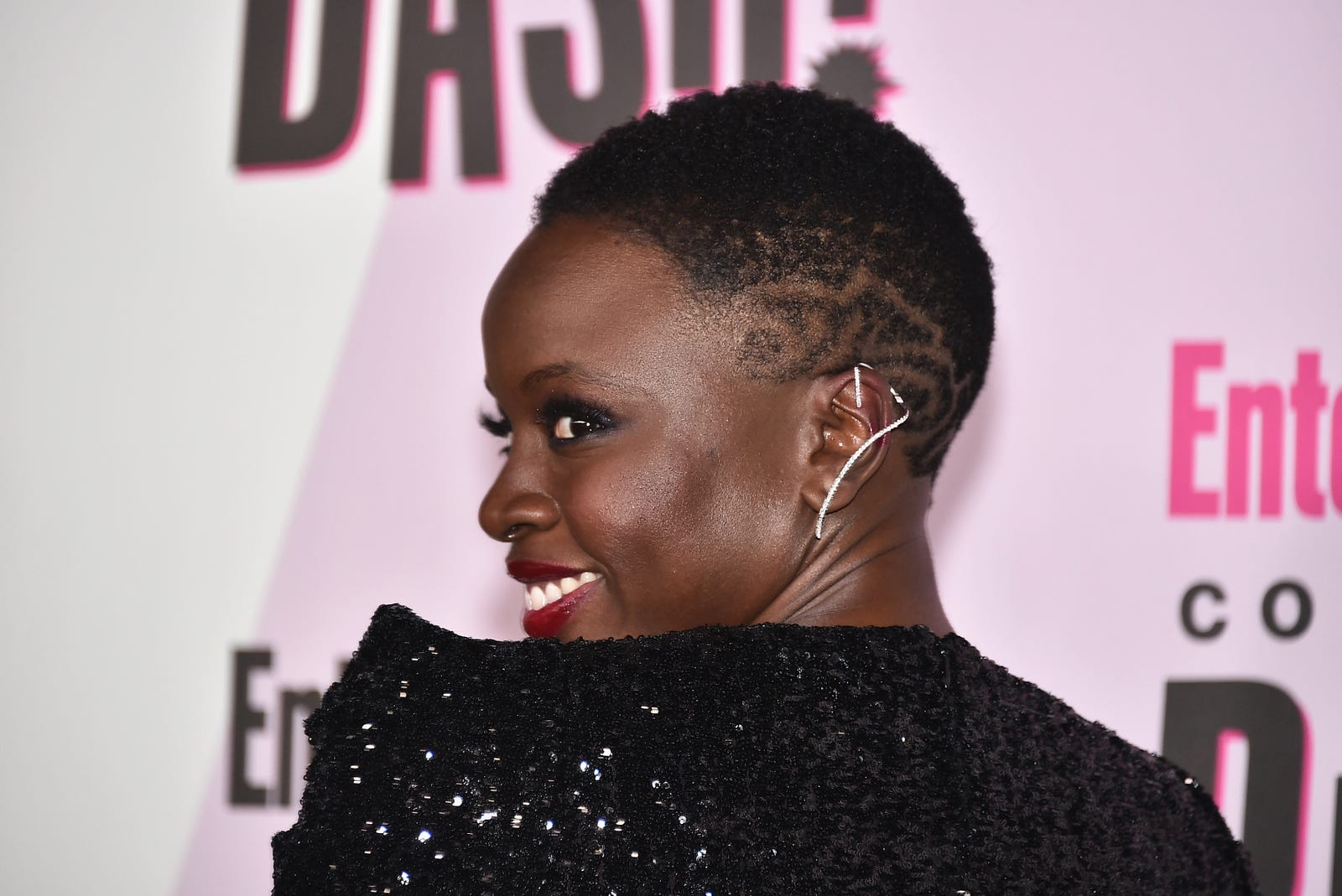Danai Gurira attends Entertainment Weekly's Comic-Con Bash held at FLOAT, Hard Rock Hotel San Diego on July 21, 2018 in San Diego, California sponsored by HBO