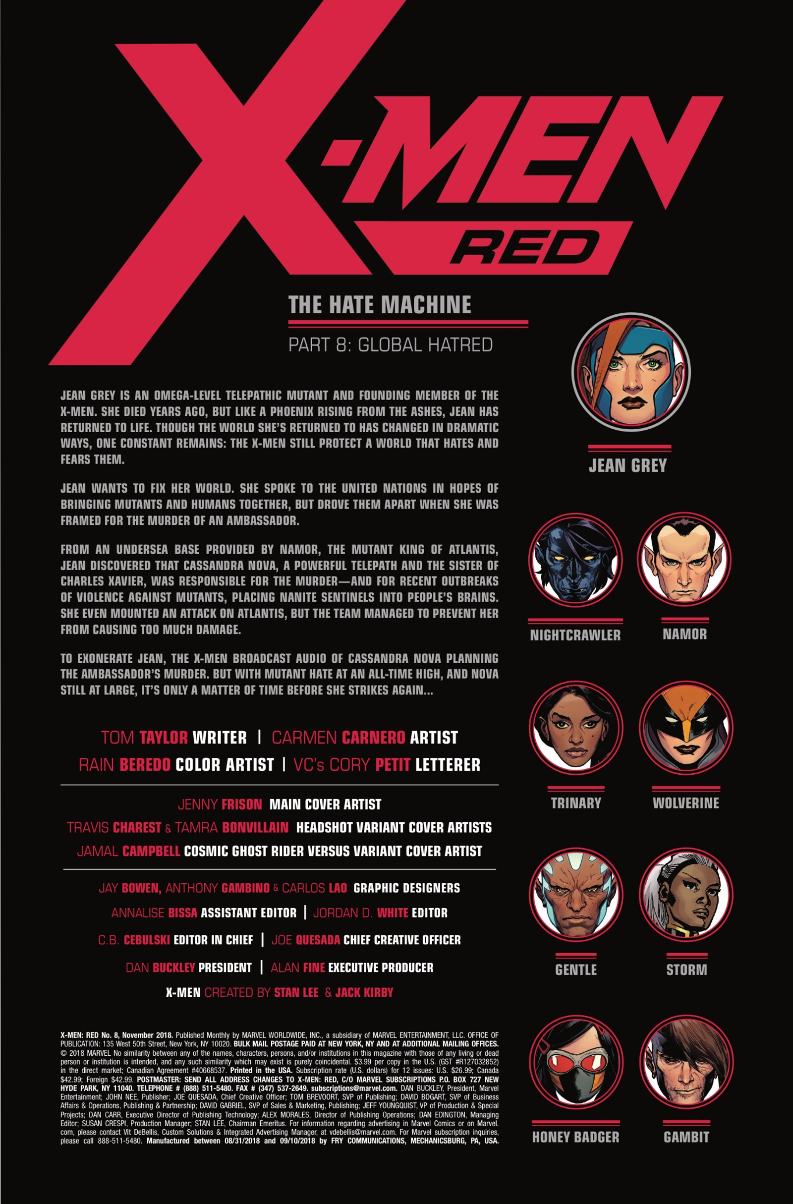 Illustration for article titled The X-Men break a TV network in this emX-Men Red /em#8 exclusive preview