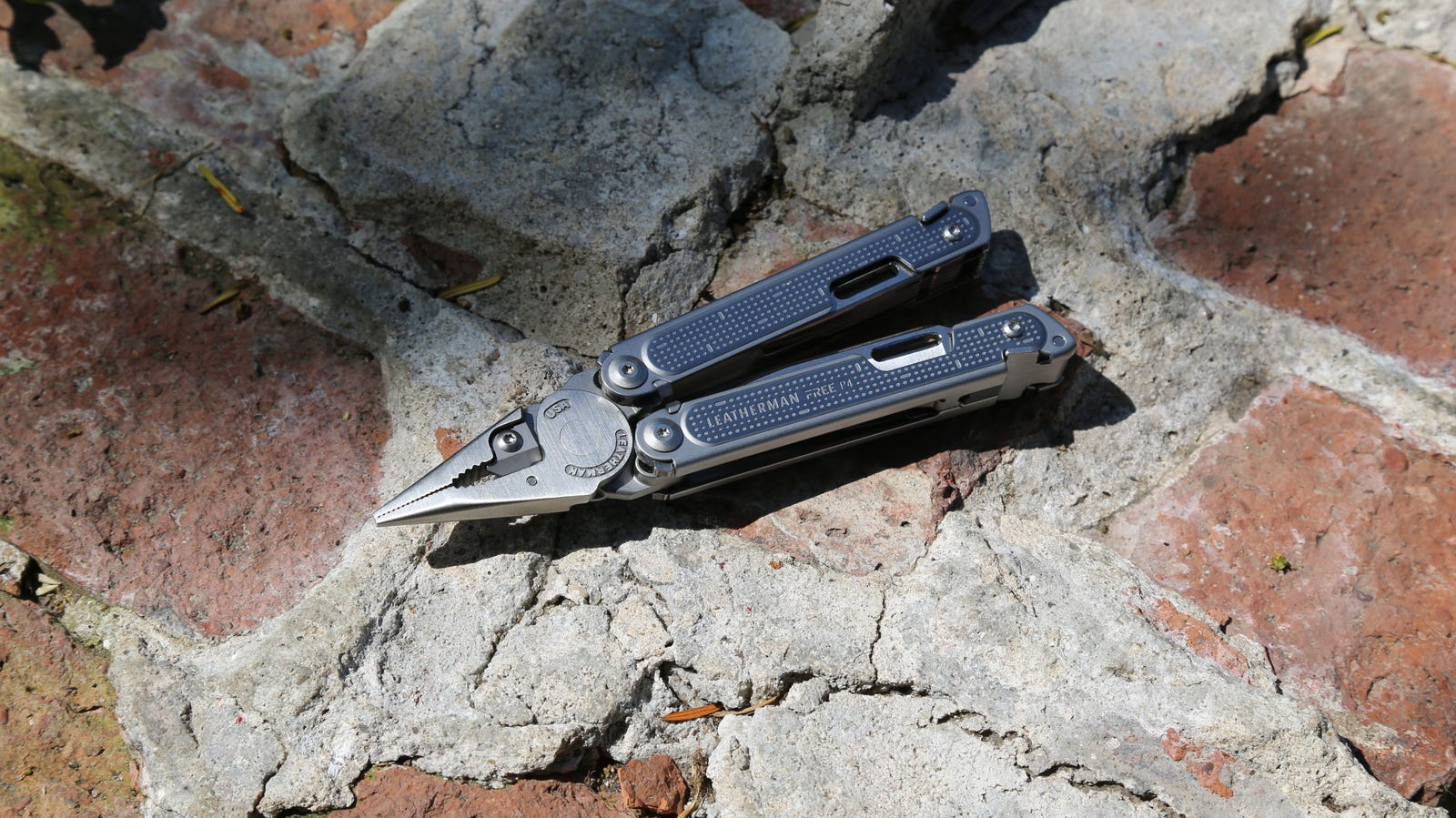 The Leatherman Free P4 in plier form
