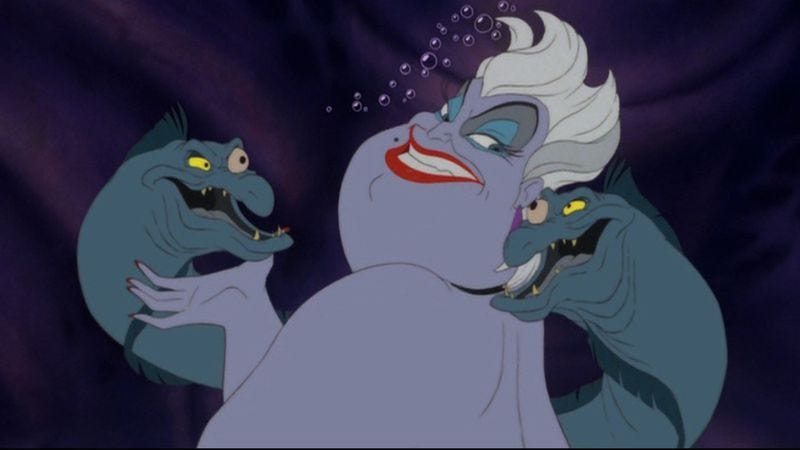 Gay Villains/ Ursula / Queer Villains