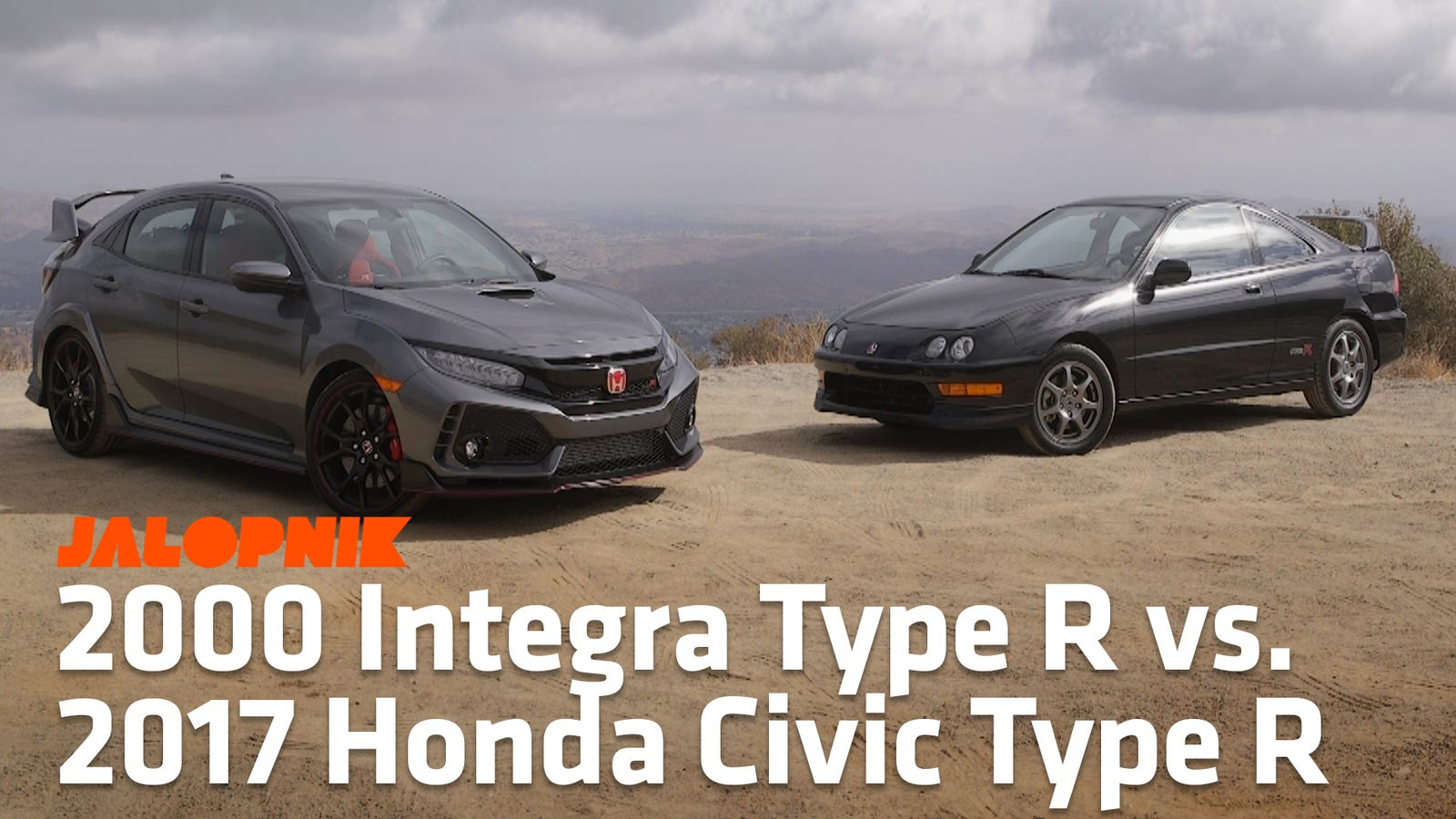 See How The 2017 Honda Civic Type R Compares To The Acura Integra Type R