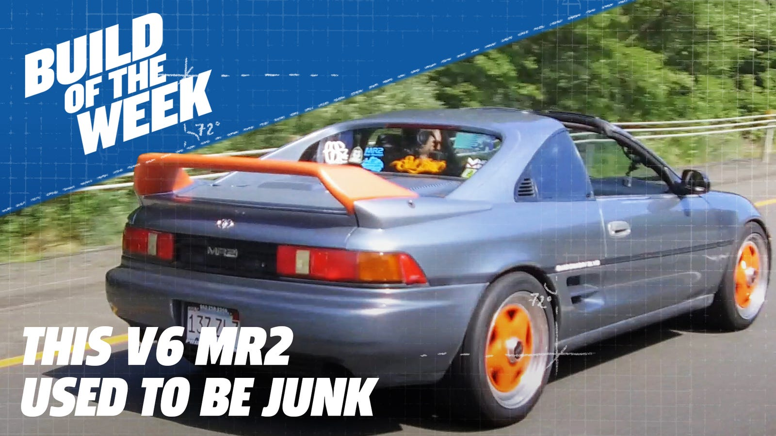 This Toyota MR2 Was Almost Scrapped But a JDM V6 Swap Made