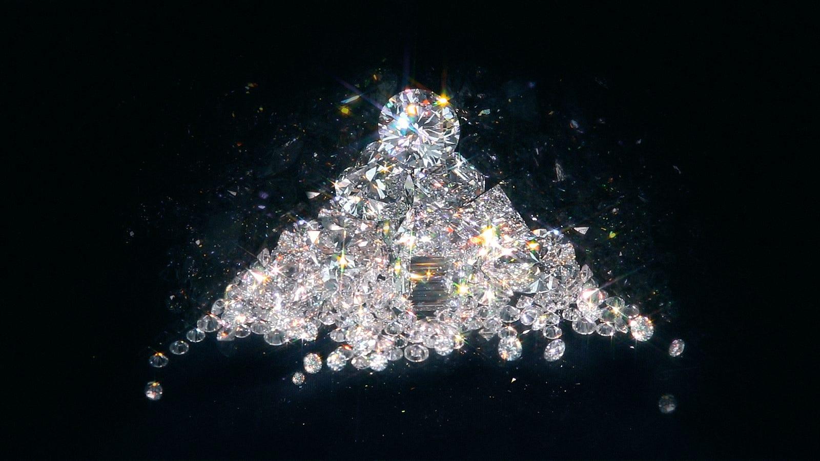 Diamant led pour le bain