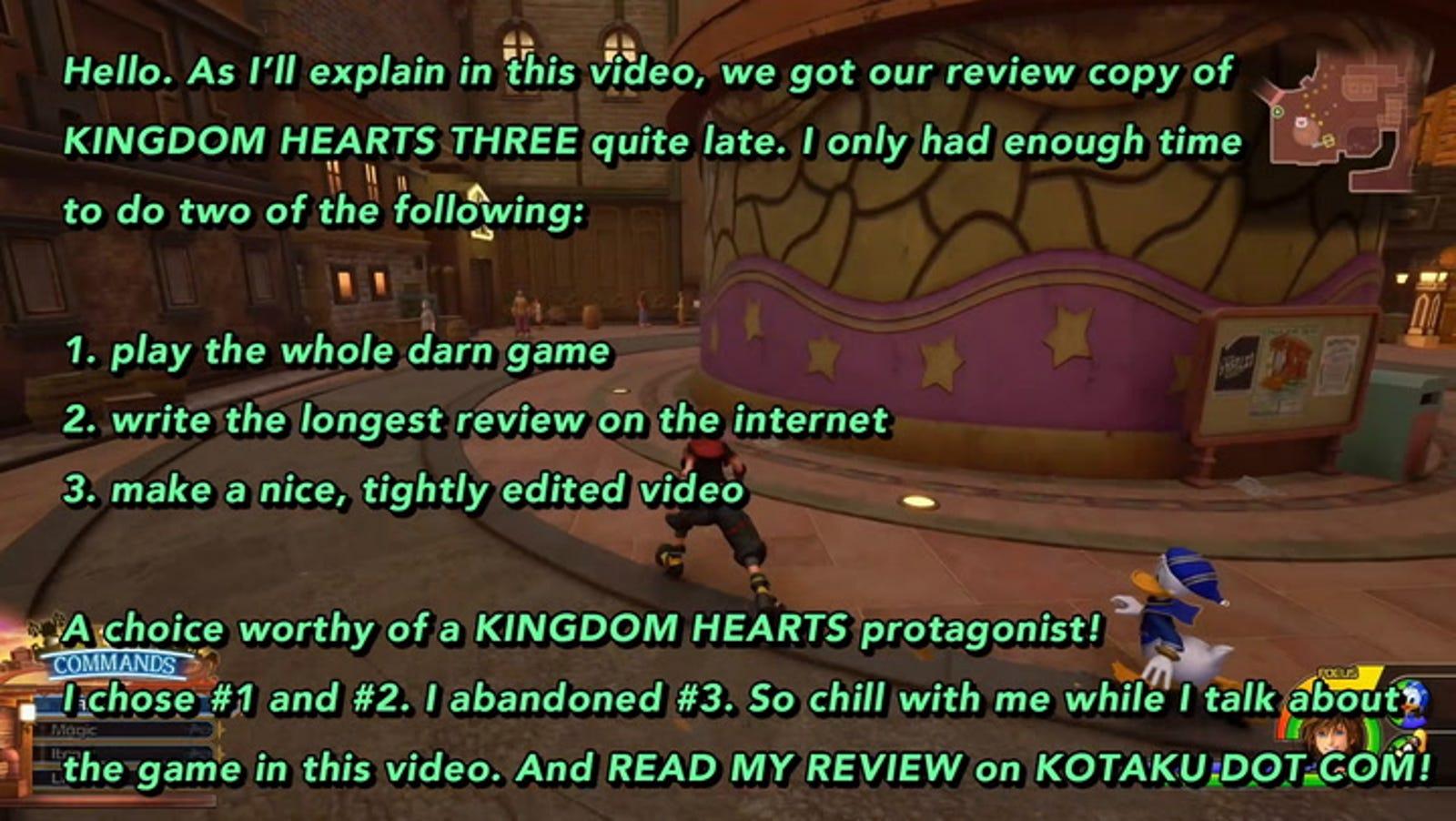 Kingdom Hearts Iii The Kotaku Review,Moroccan Mint Tea Benefits