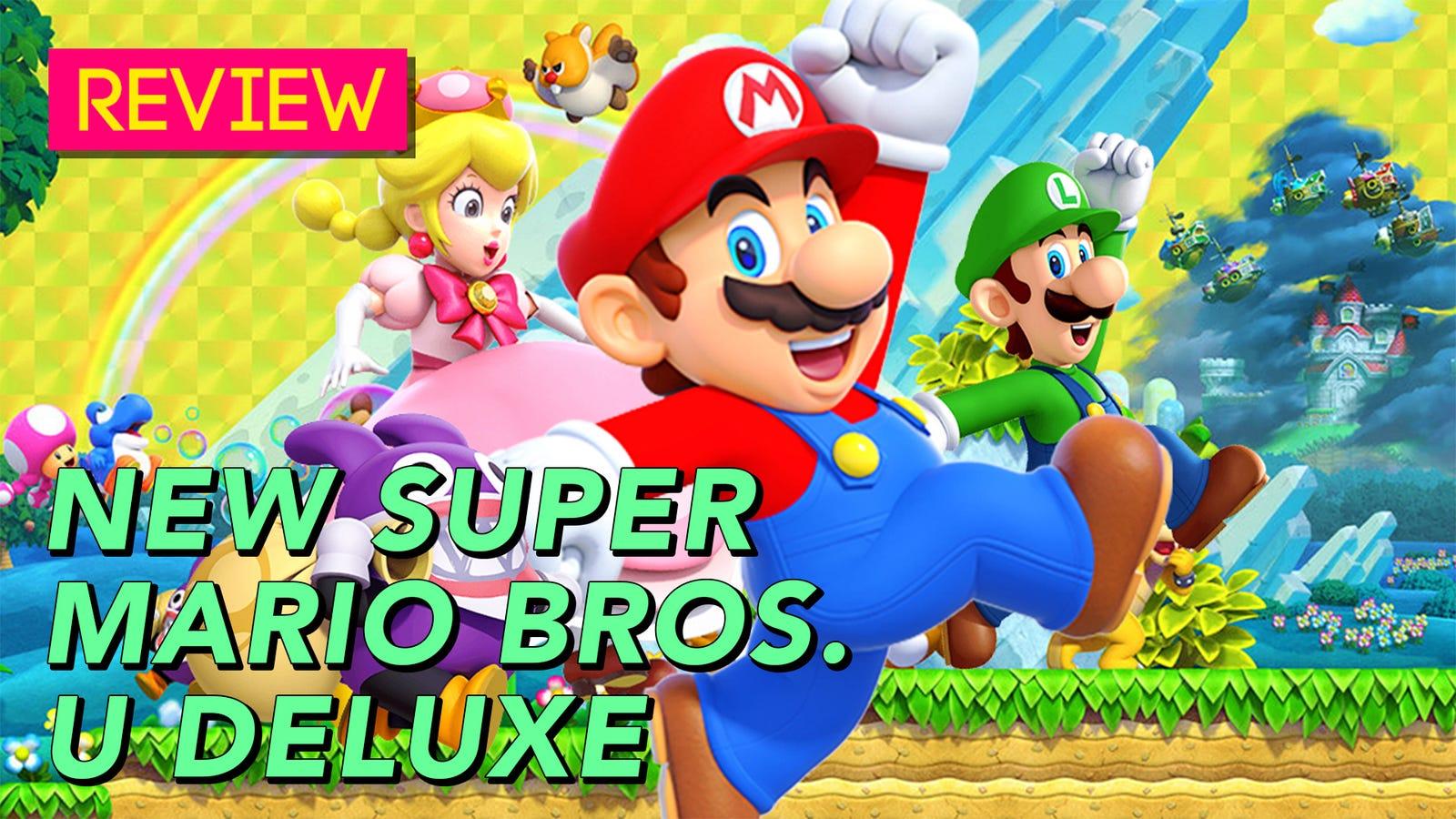 New Super Mario Bros U Deluxe The Kotaku Review